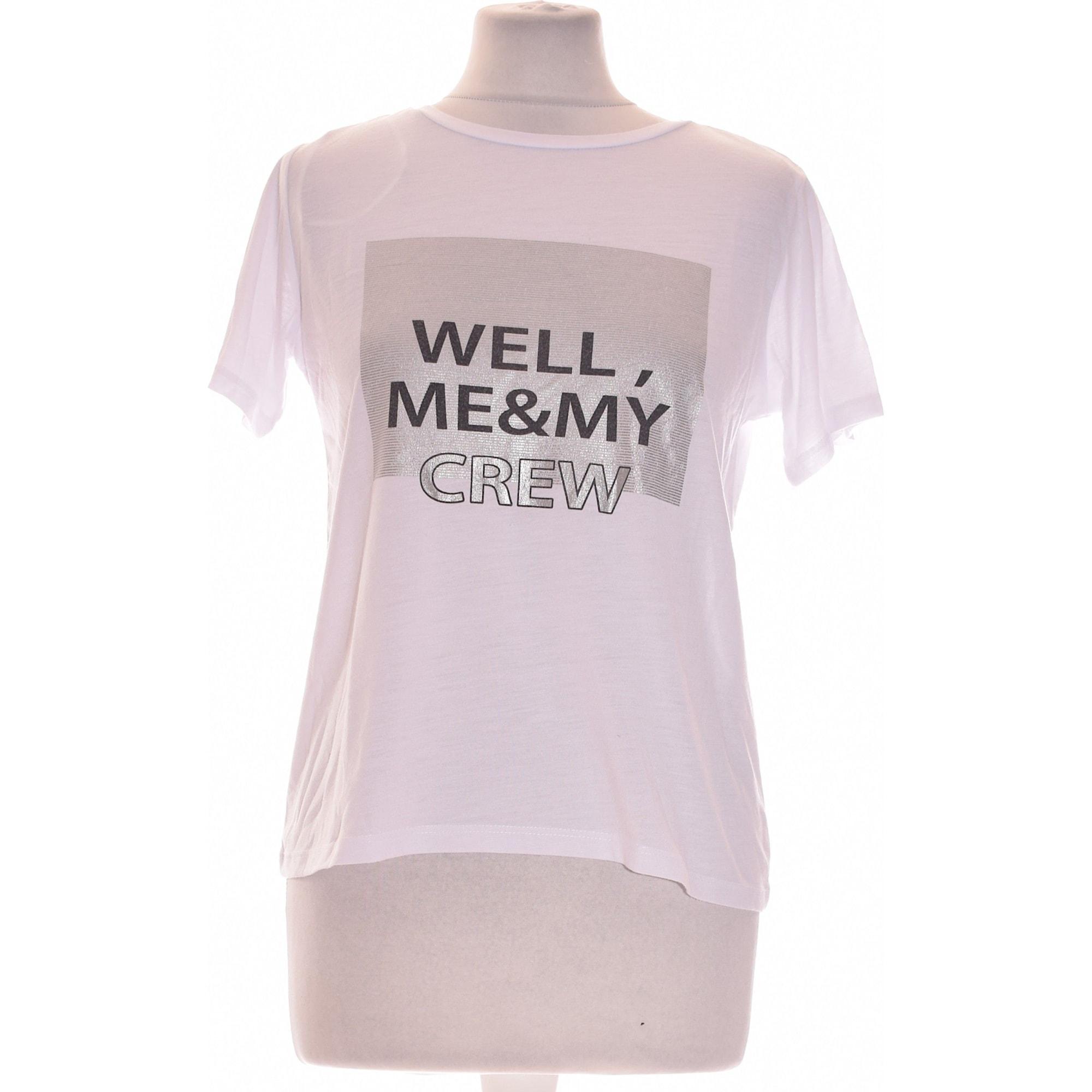 Top, tee-shirt LIBERTO Blanc, blanc cassé, écru