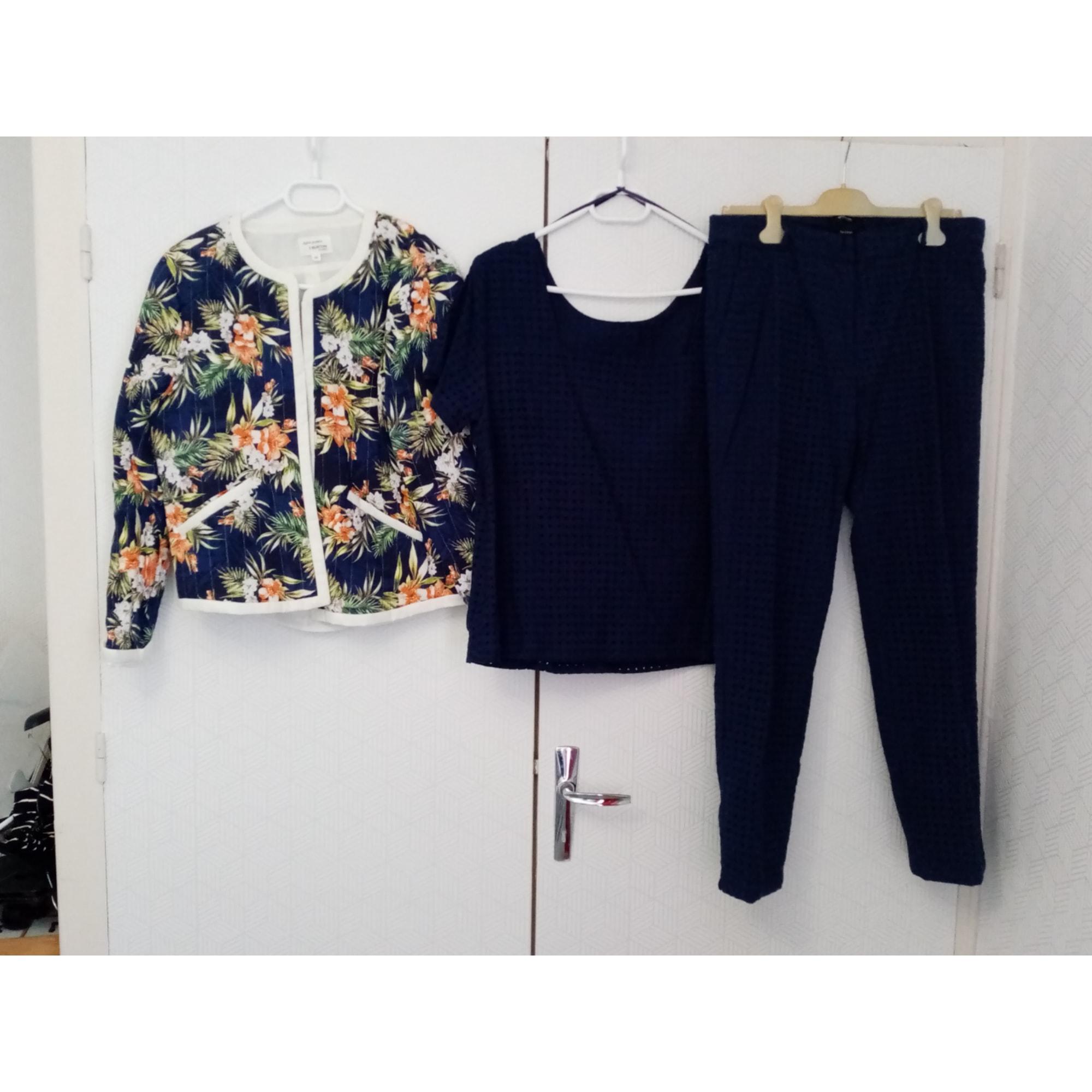 Tailleur pantalon BURTON Bleu, bleu marine, bleu turquoise