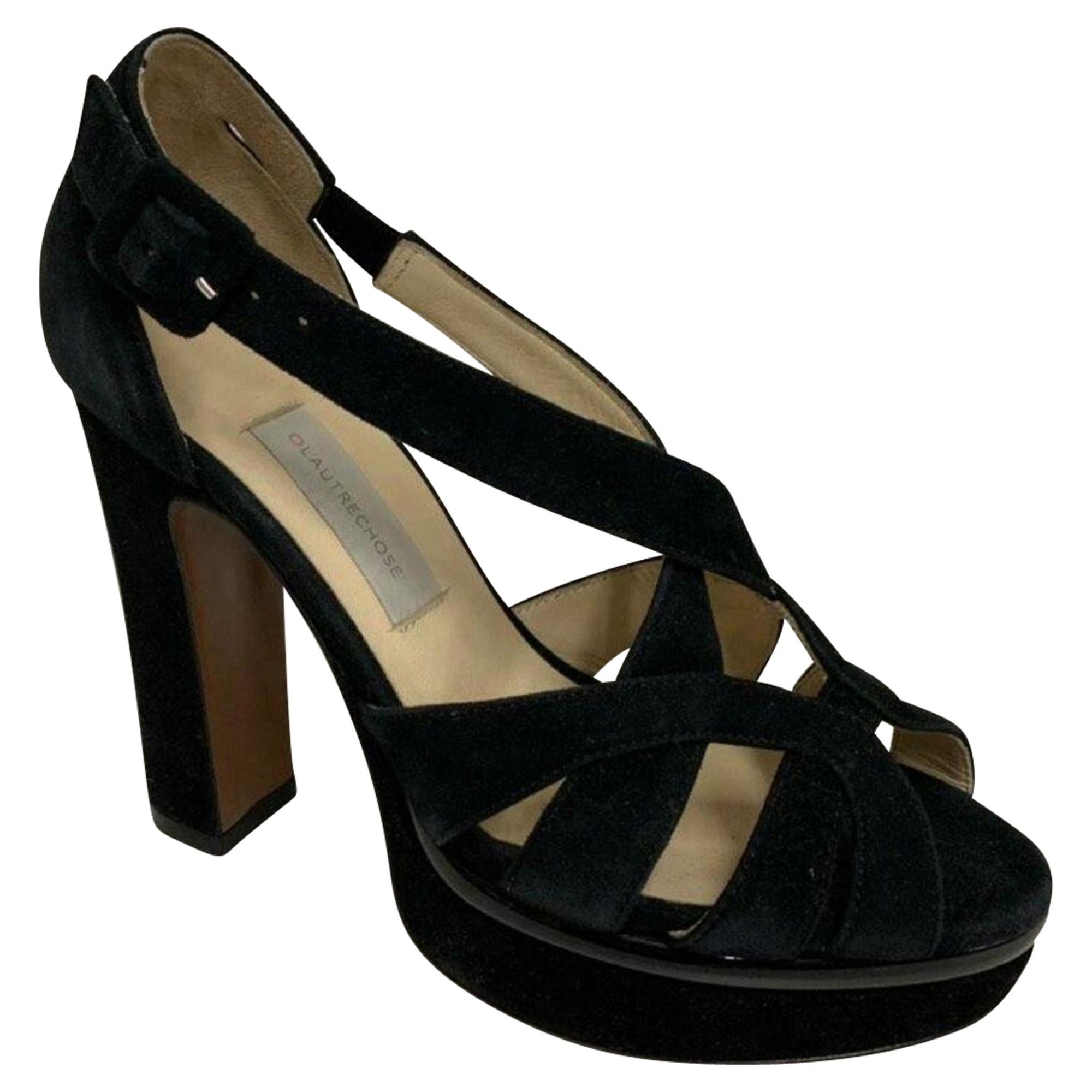 Sandales à talons L'AUTRE CHOSE Noir
