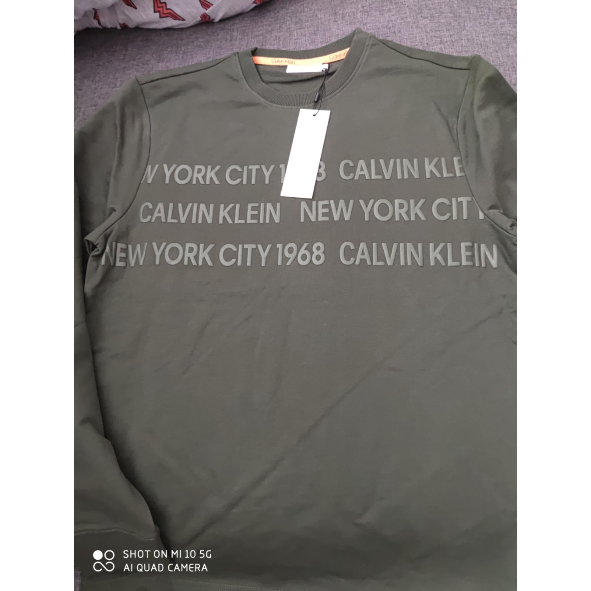 Pull CALVIN KLEIN Kaki