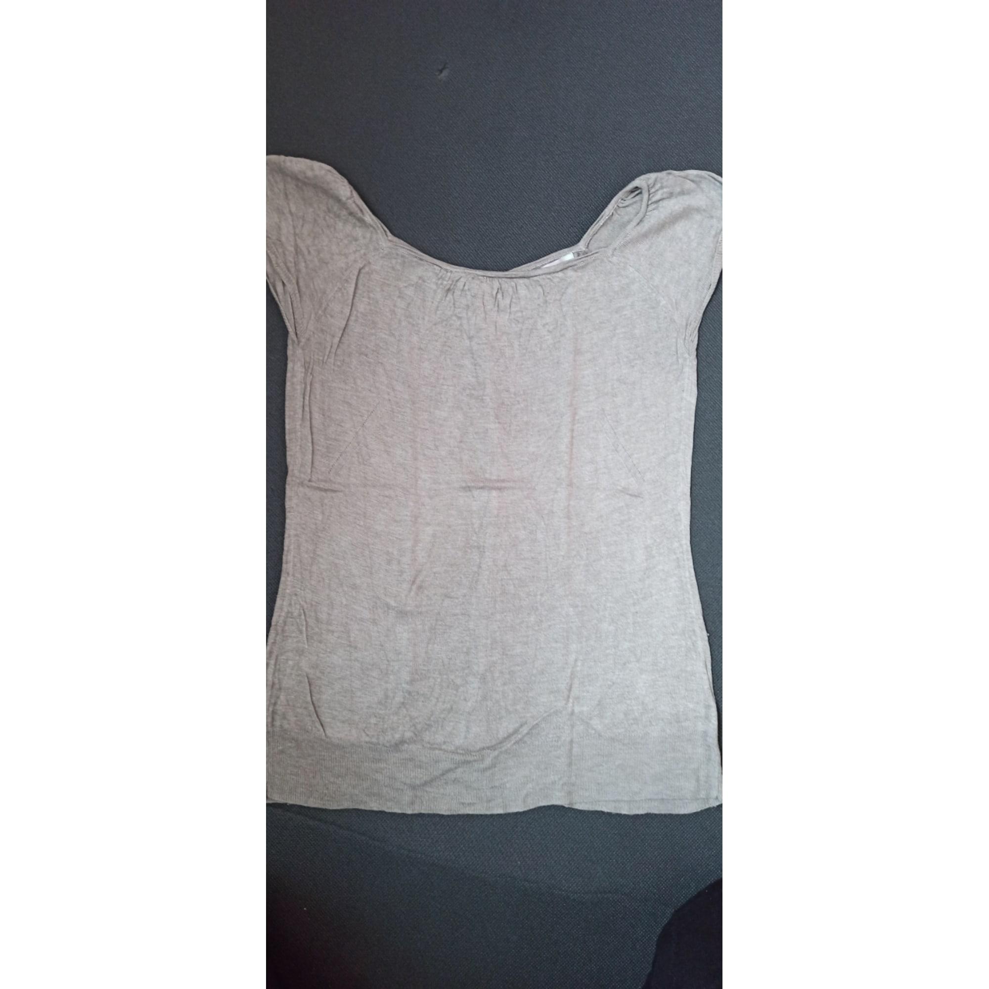 Top, tee-shirt BERENICE Doré, bronze, cuivre