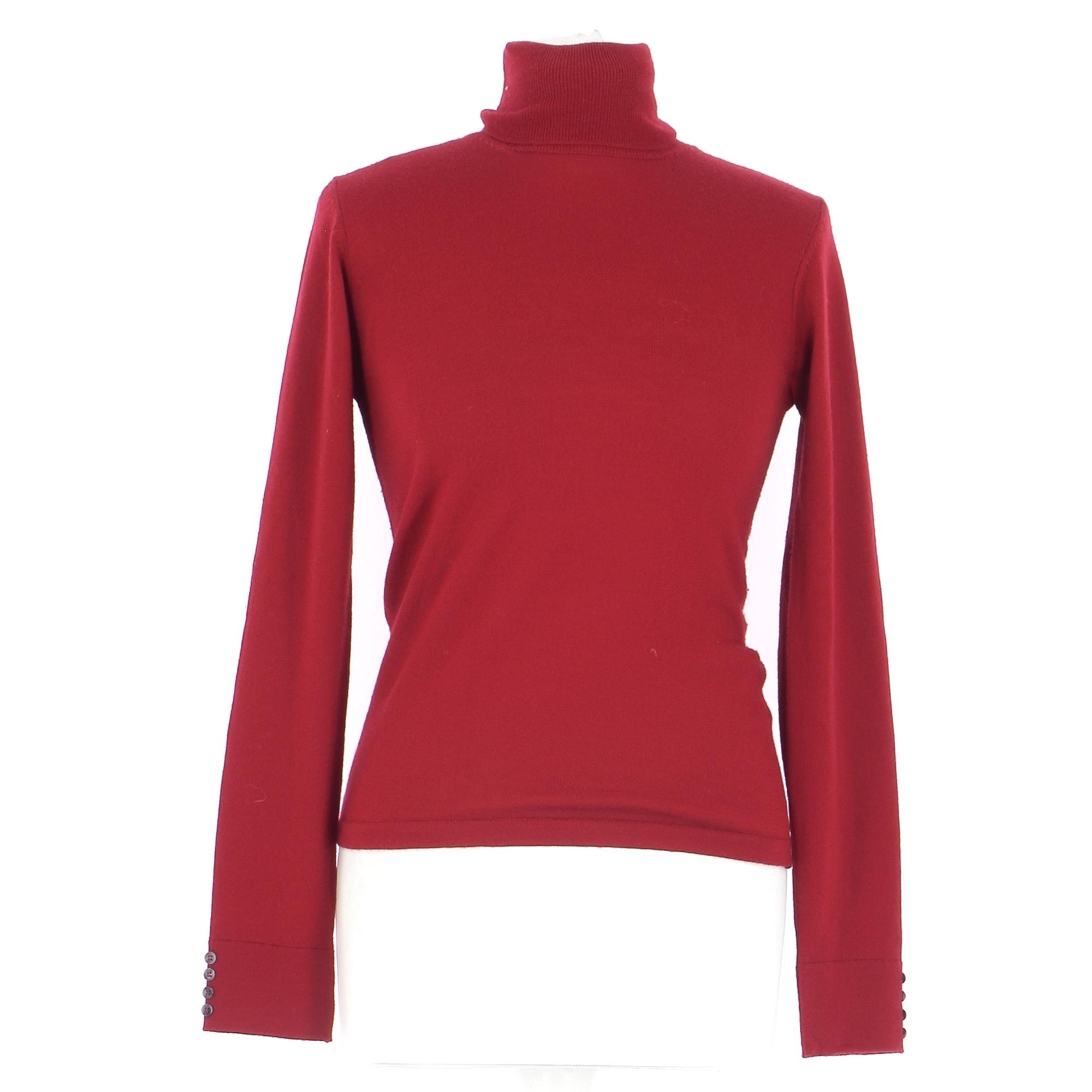 Sweater ALAIN MANOUKIAN Red, burgundy