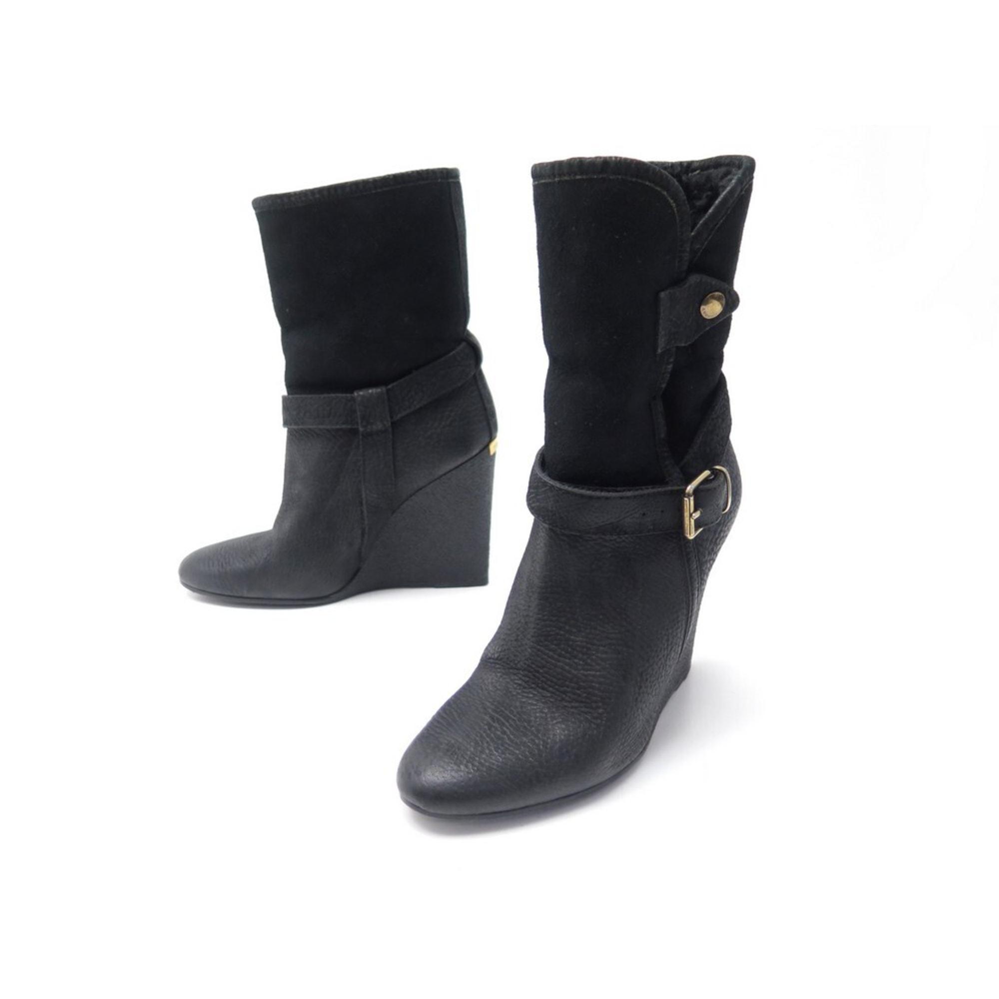 Bottines & low boots à talons BURBERRY Noir