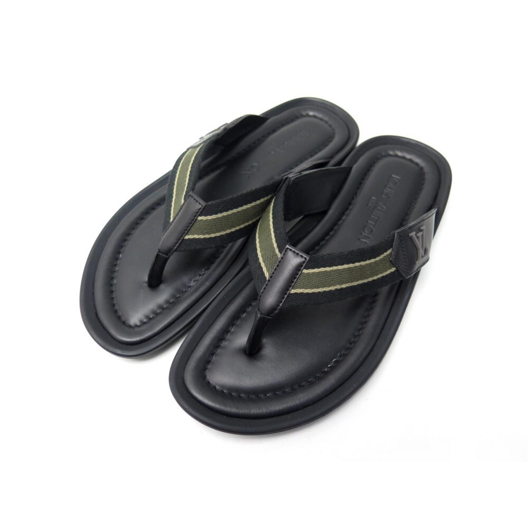Sandales plates  LOUIS VUITTON Noir
