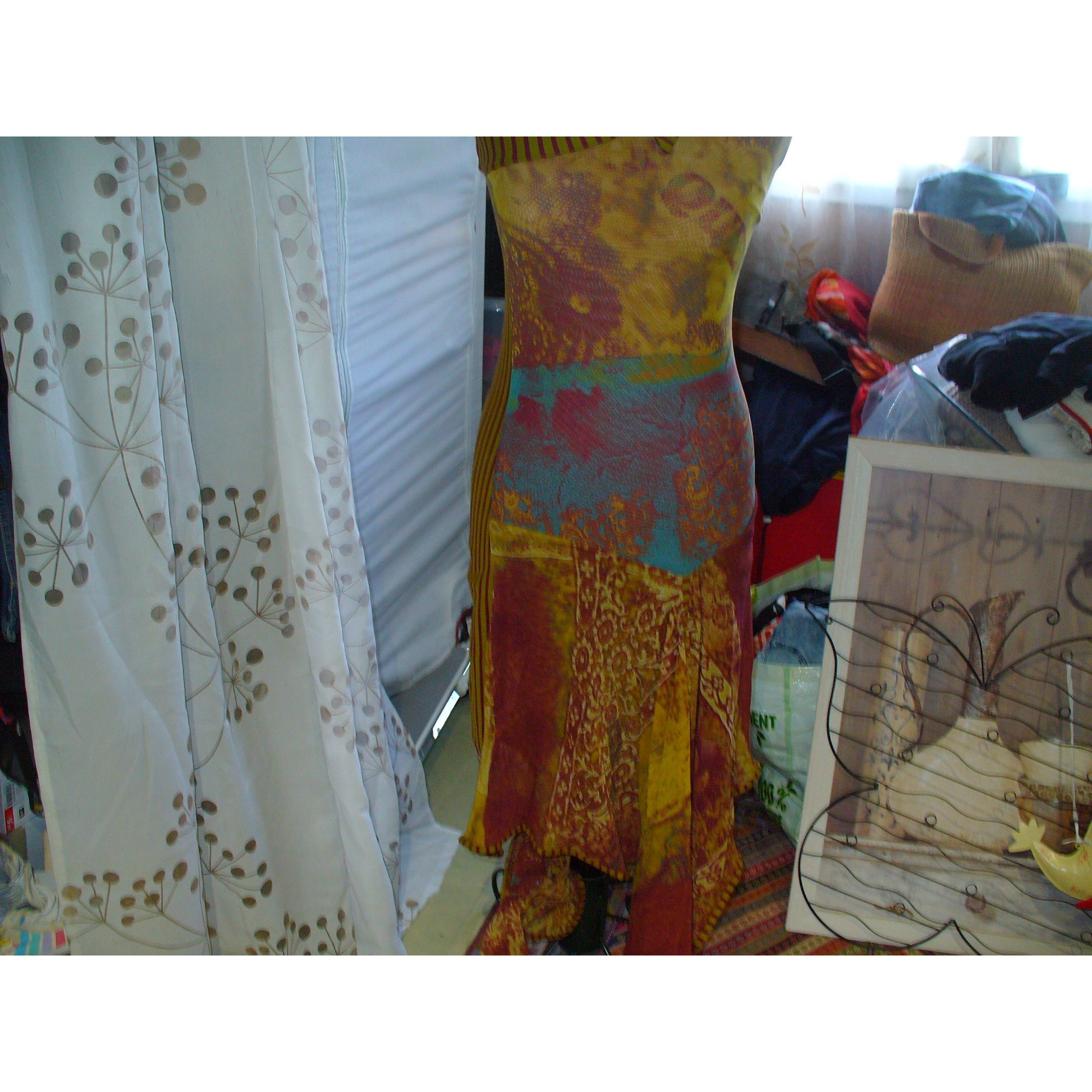 Robe longue SAVE THE QUEEN Multicouleur