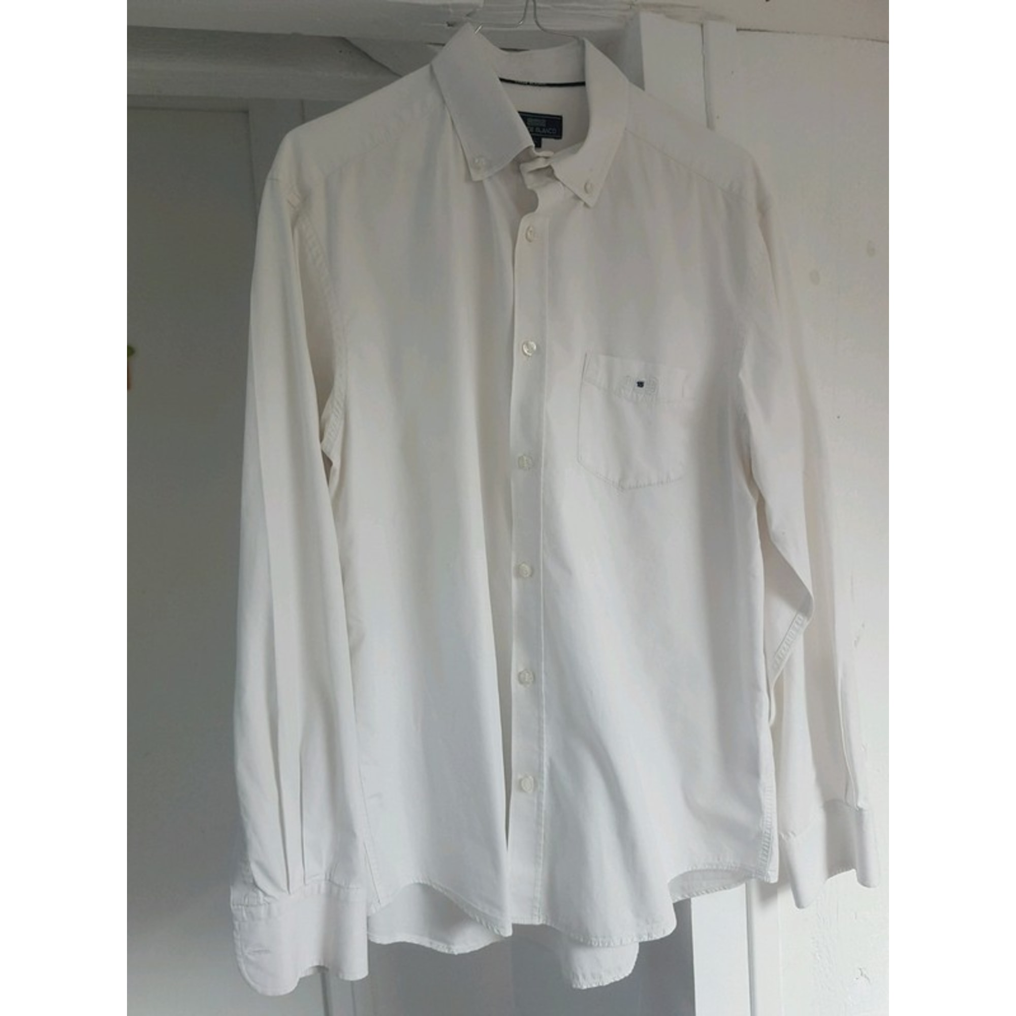 Chemise SERGE BLANCO Blanc, blanc cassé, écru