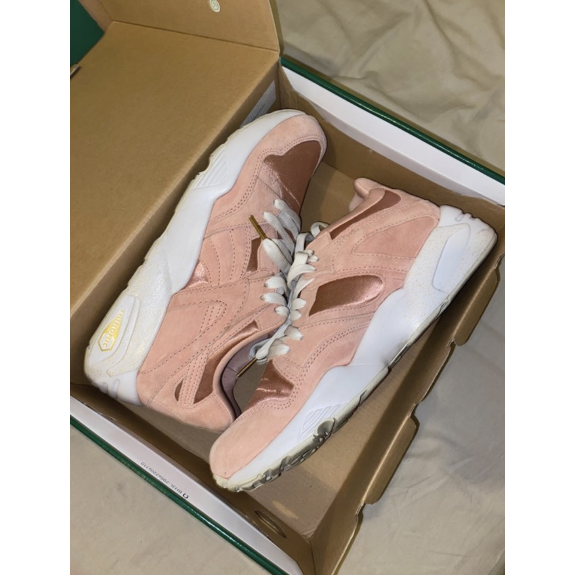 Chaussures à lacets  PUMA Rose, fuschia, vieux rose