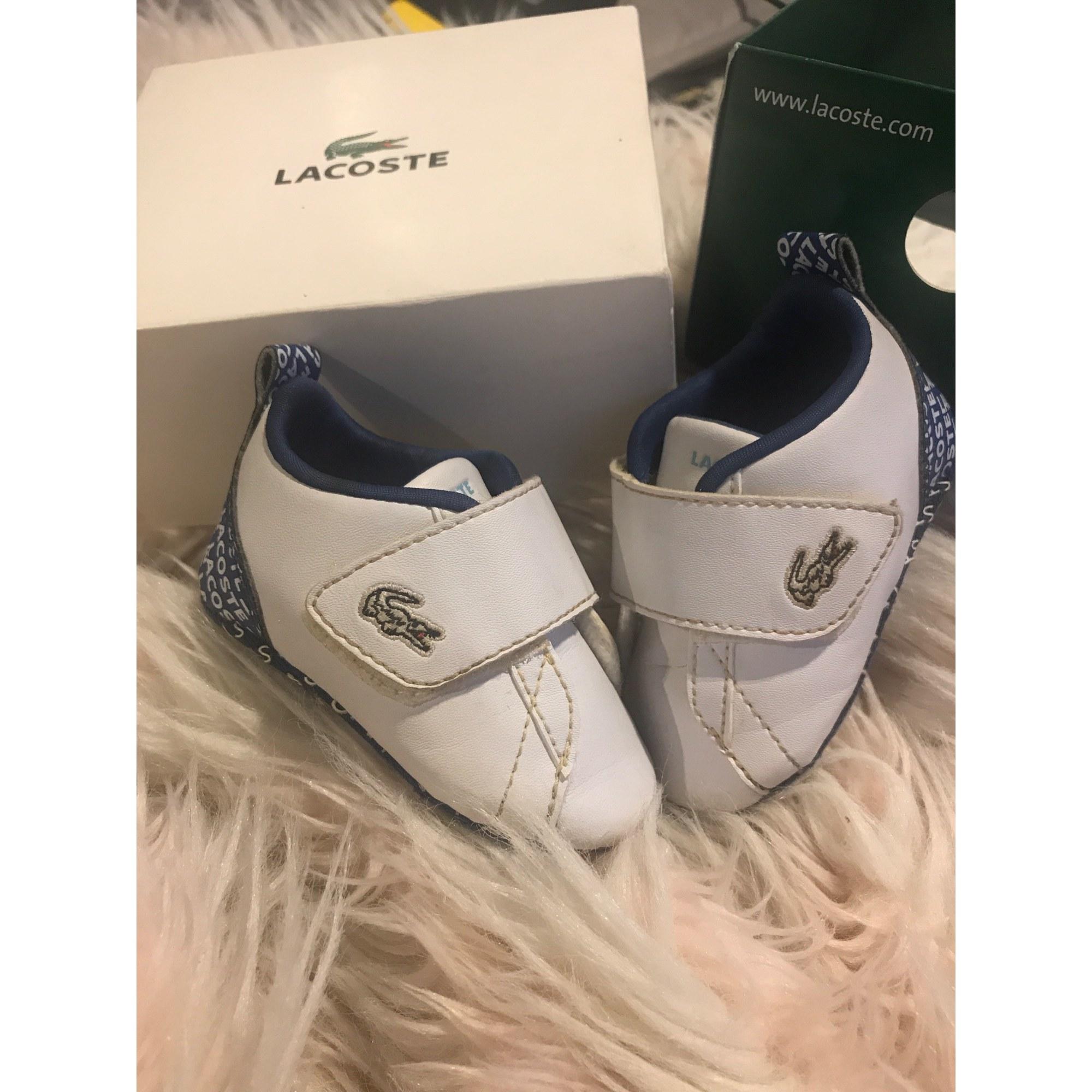 Sneakers LACOSTE White, off-white, ecru