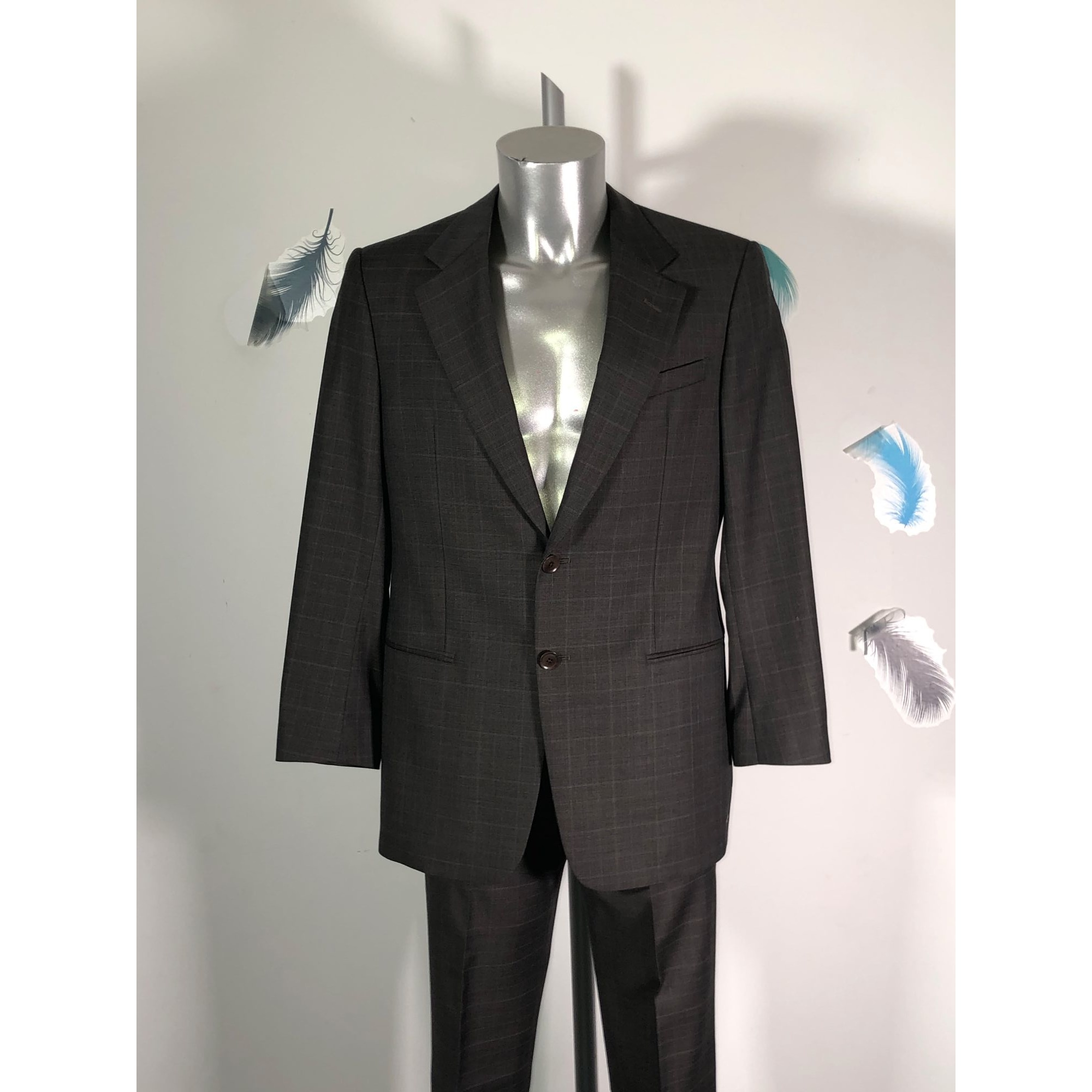 Costume complet ARMANI Gris, anthracite