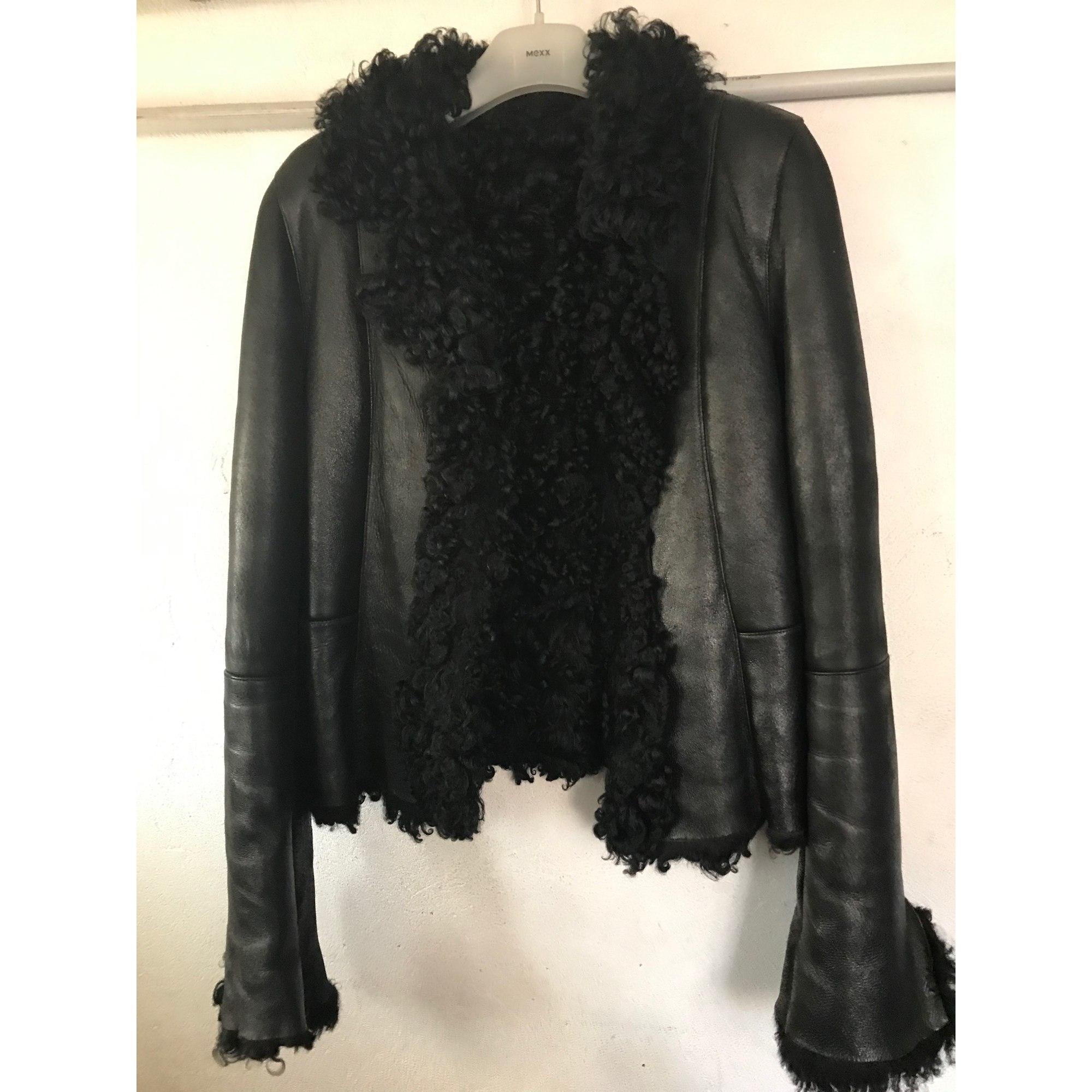 Blouson, veste en fourrure BREITLING Noir