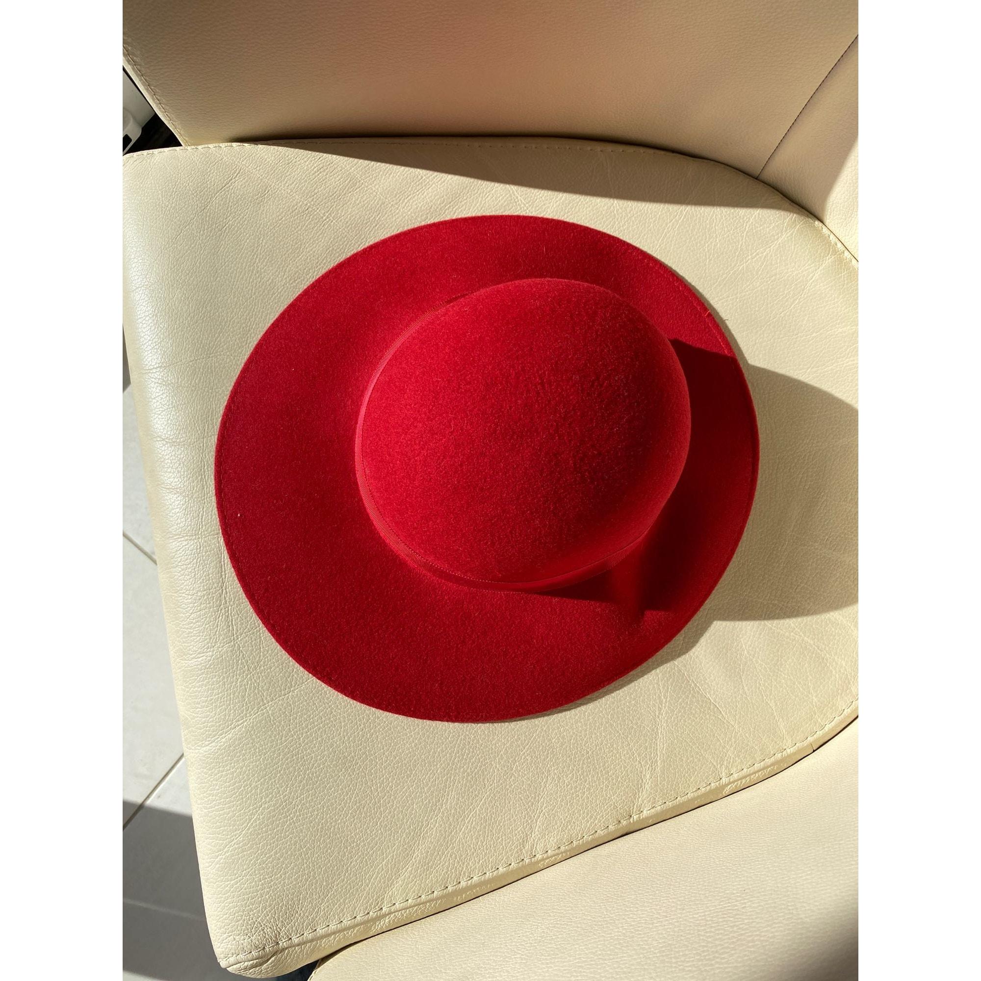 Chapeau THE BRITISH HAT GUILD Rouge, bordeaux