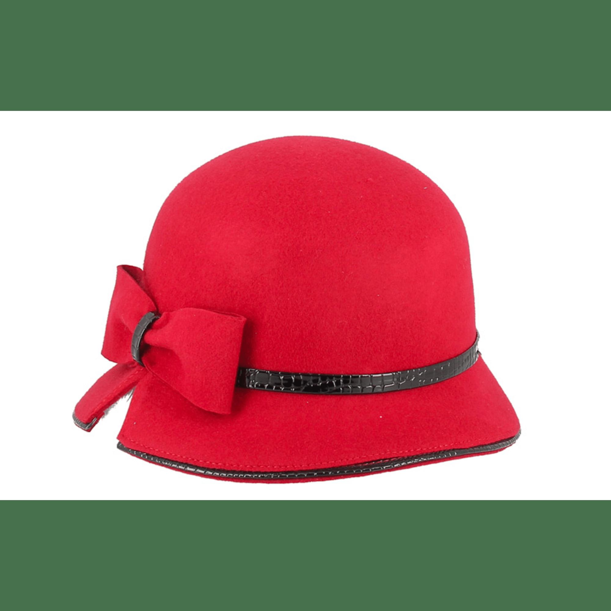 Chapeau FLECHET Rouge, bordeaux