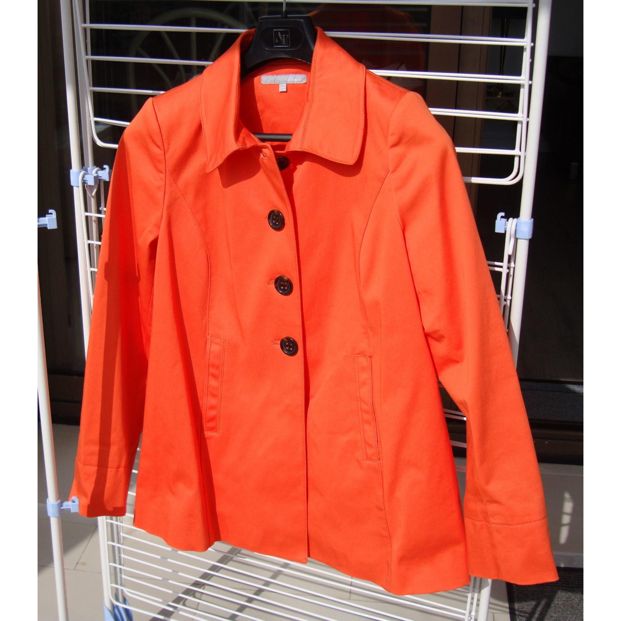 Blazer, veste tailleur ETAM Orange