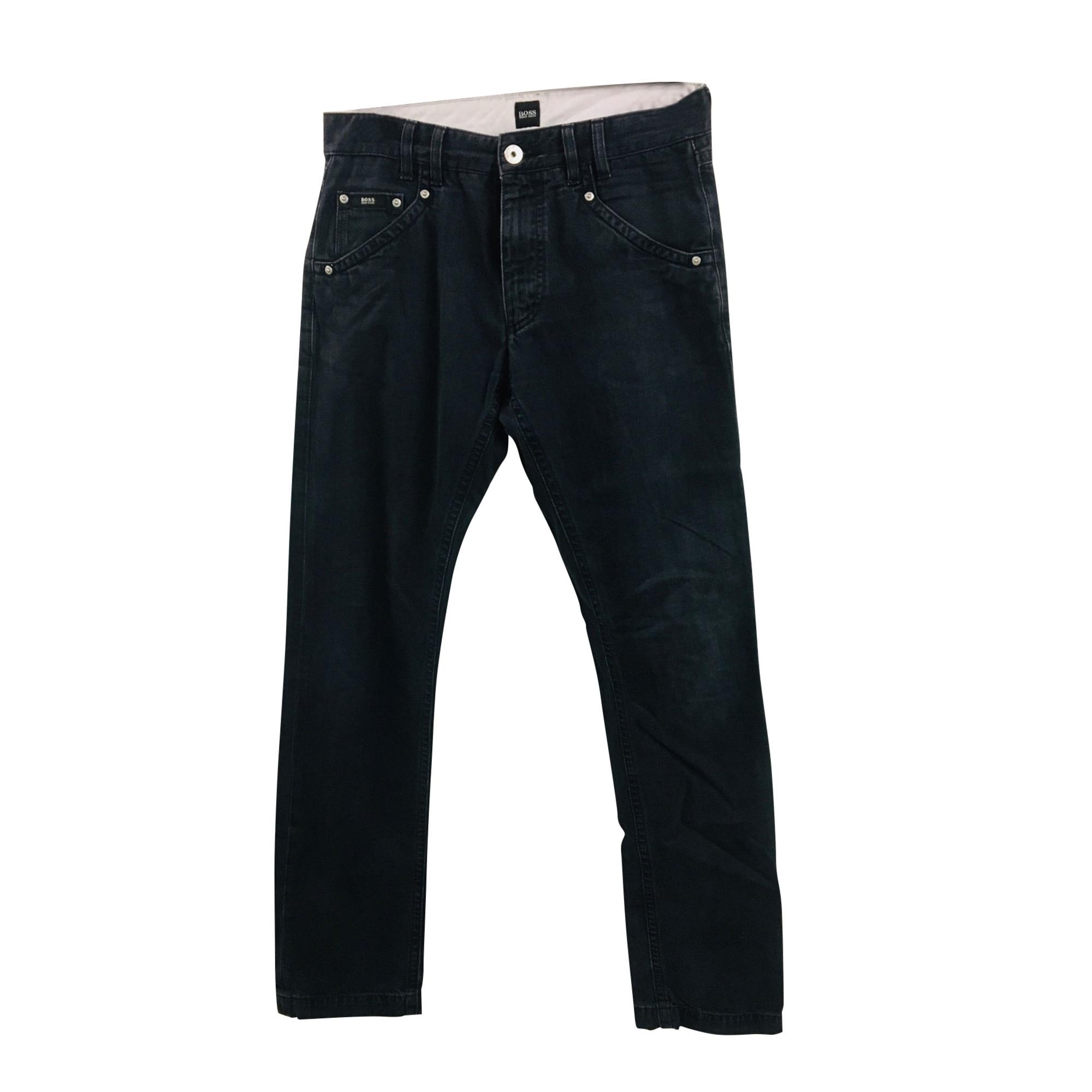 Straight Leg Pants HUGO BOSS Black