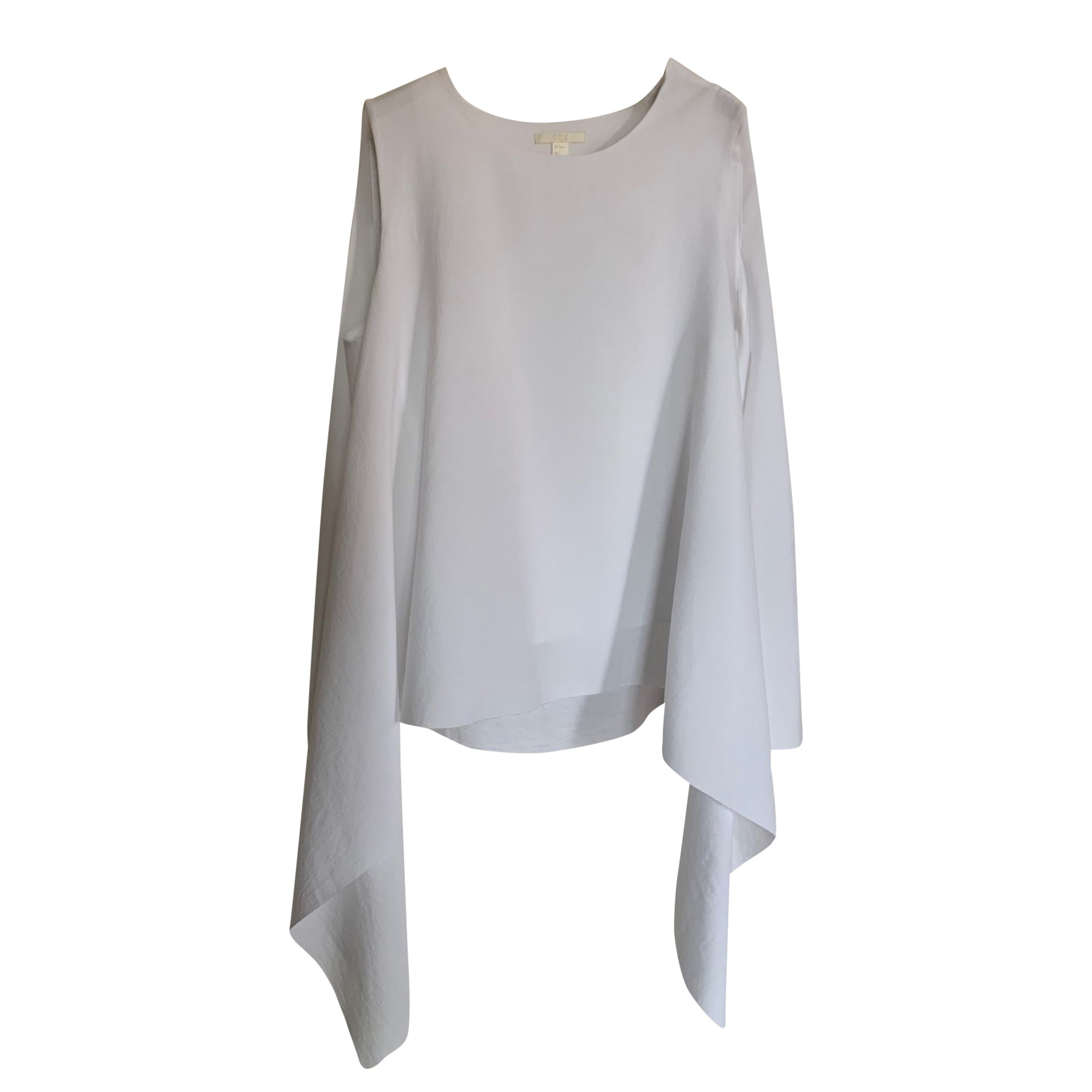 Top, T-shirt COS White, off-white, ecru