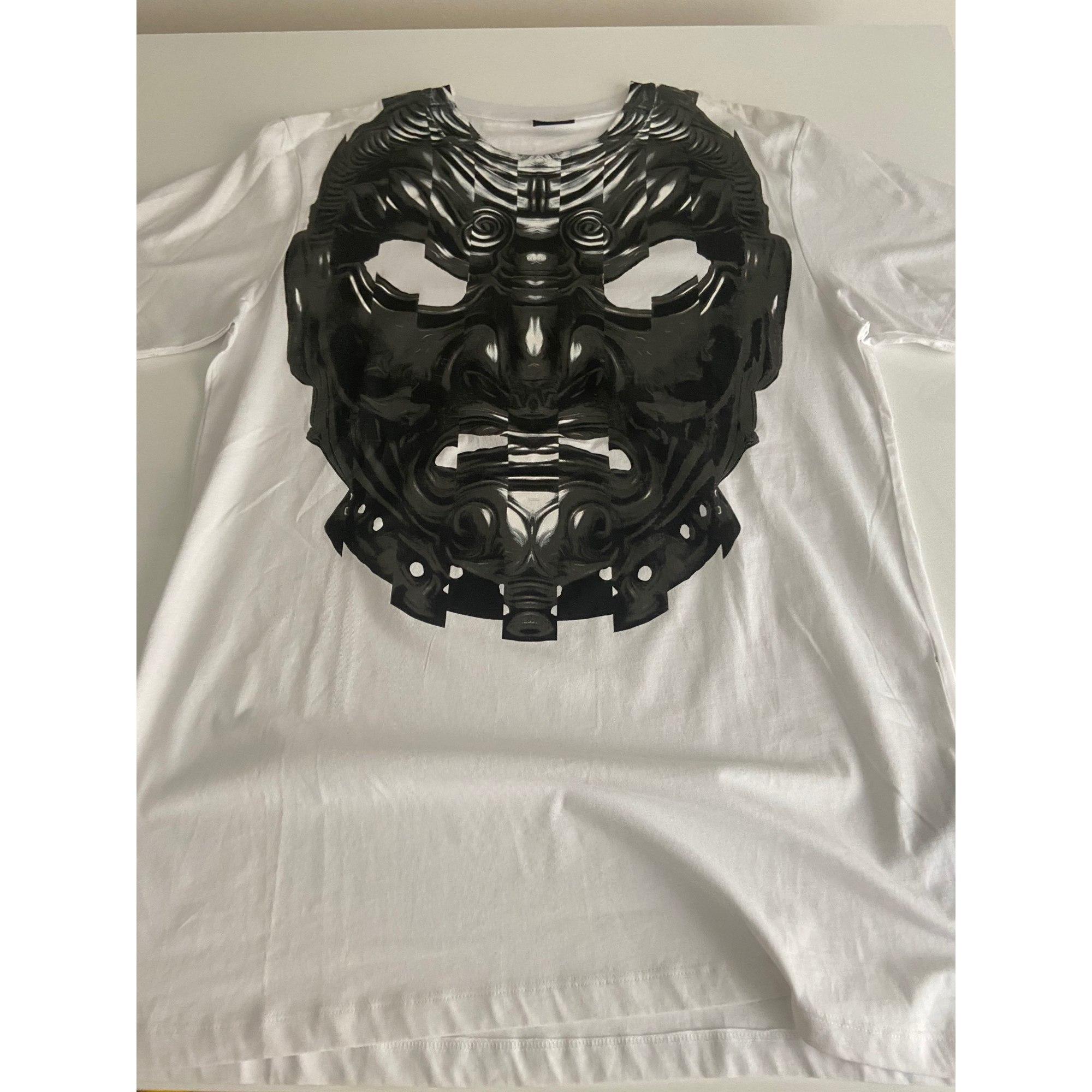 Tee-shirt MARCELO BURLON Blanc, blanc cassé, écru