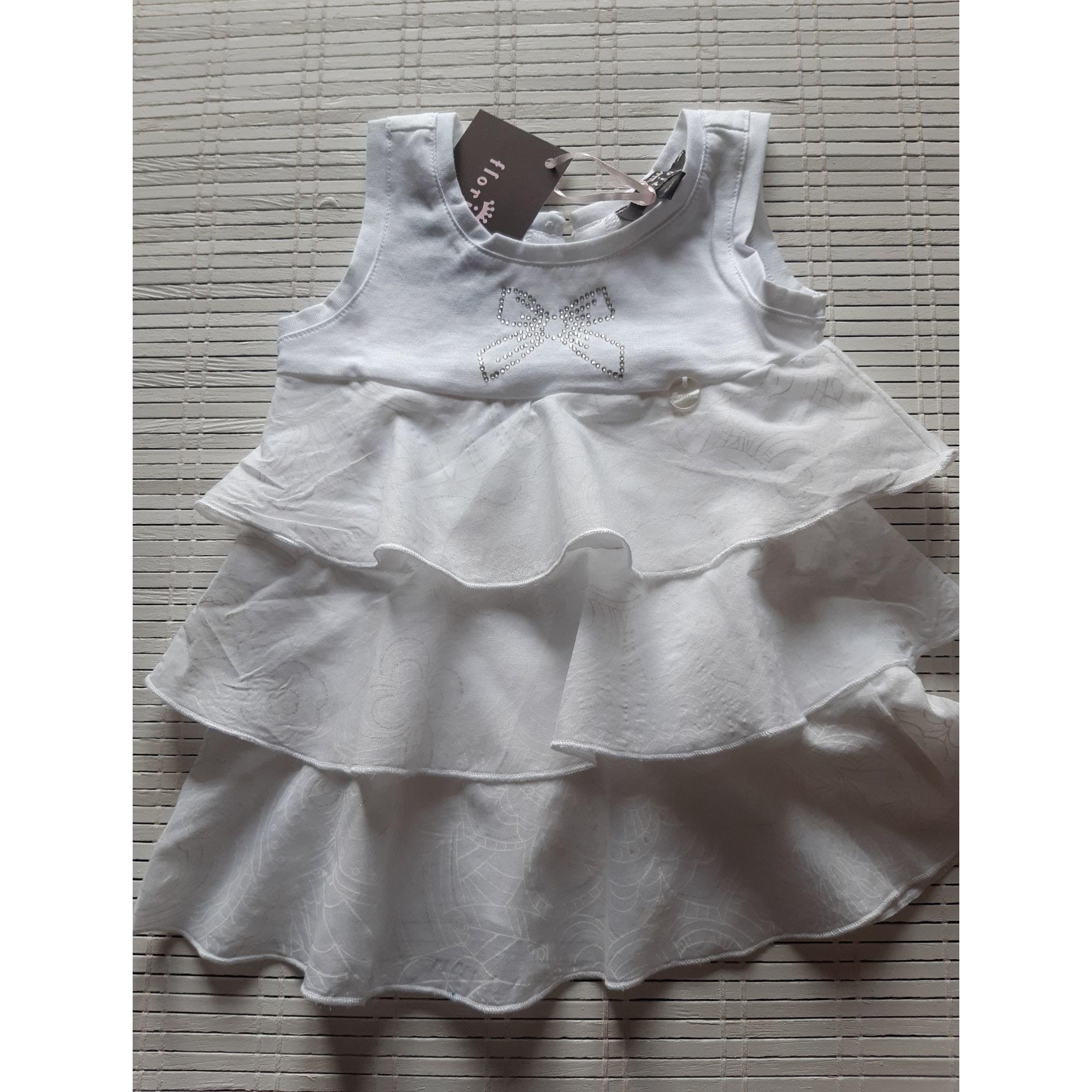 Robe FLORIANE Blanc, blanc cassé, écru
