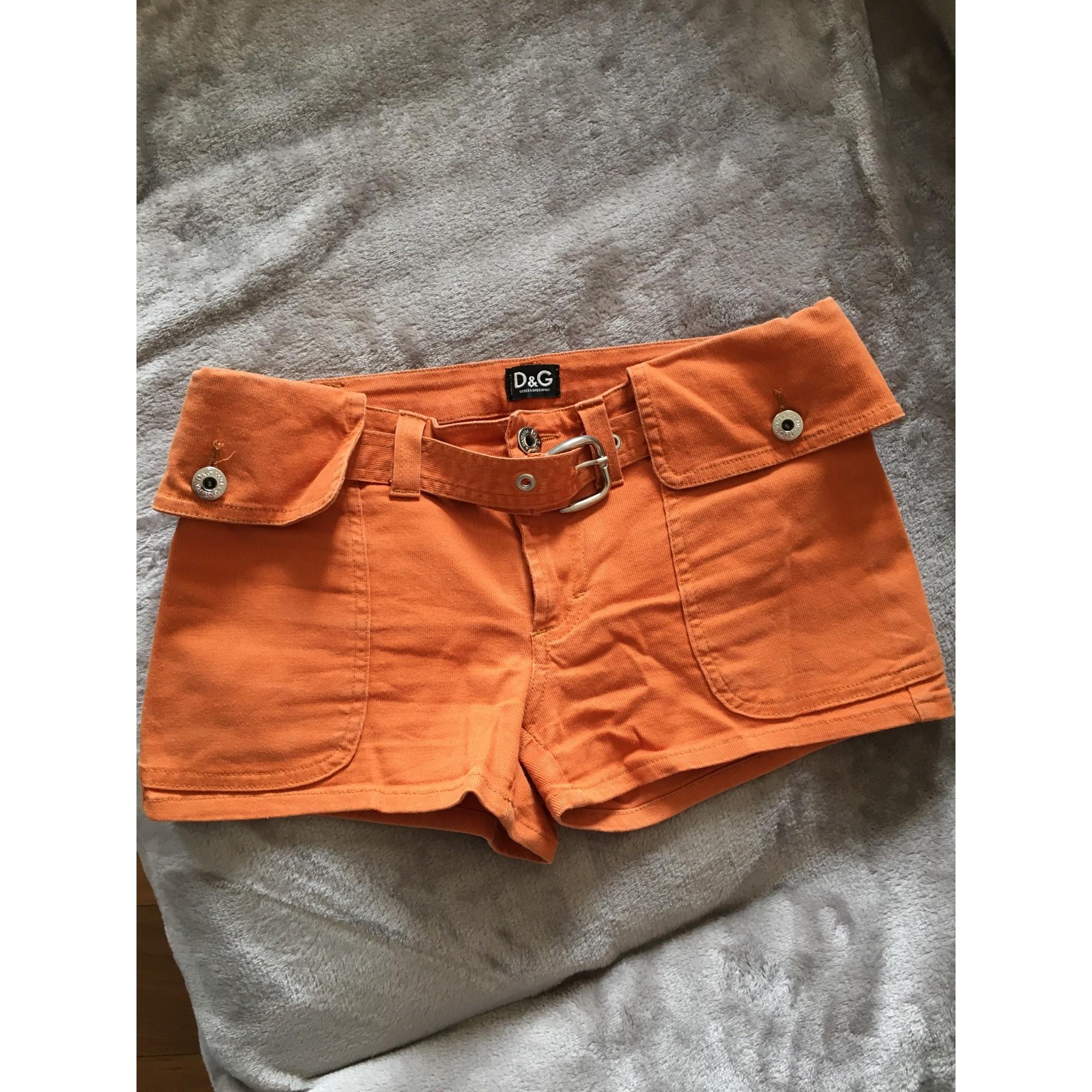 Short DOLCE & GABBANA Orange