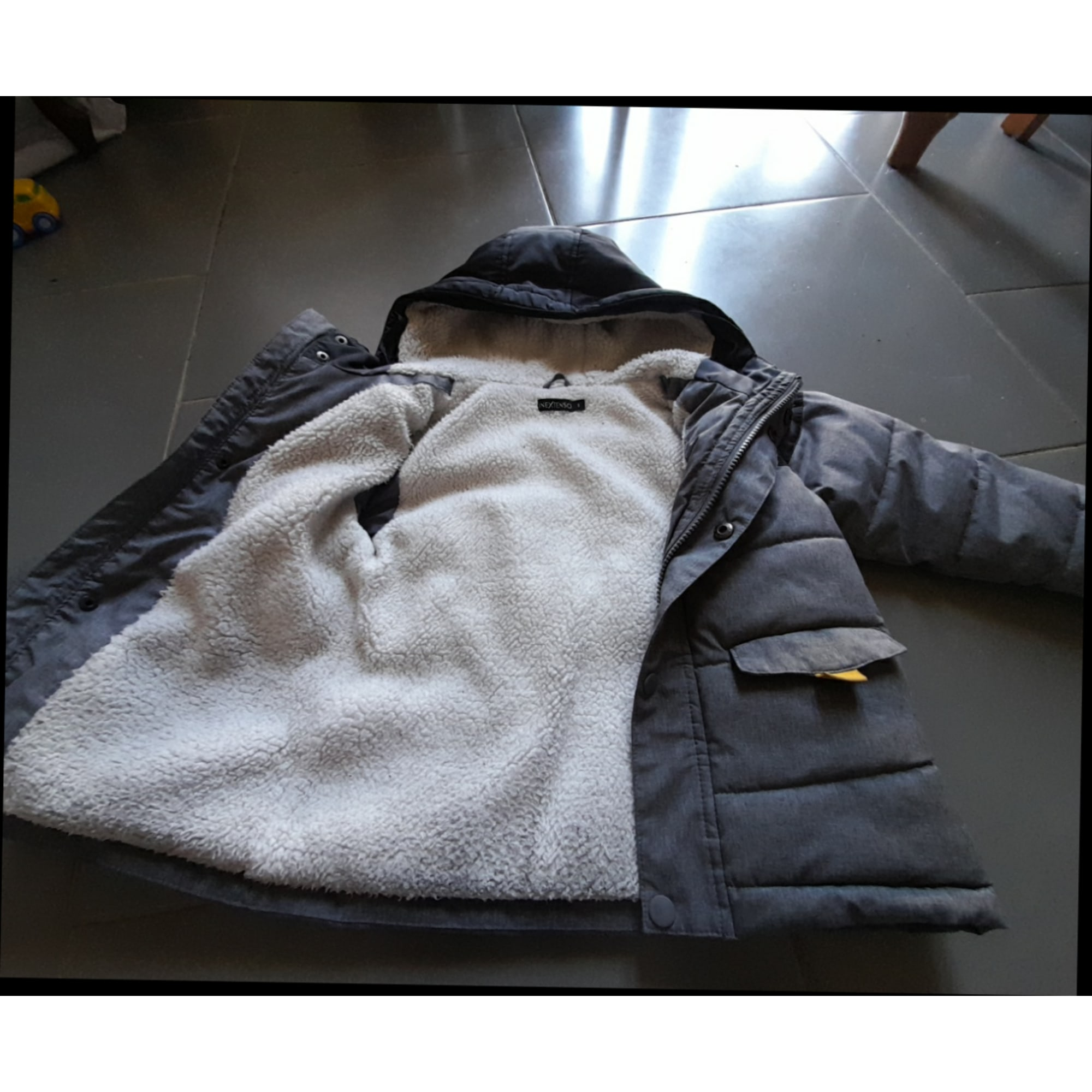 Down Jacket IN EXTENSO Gray, charcoal