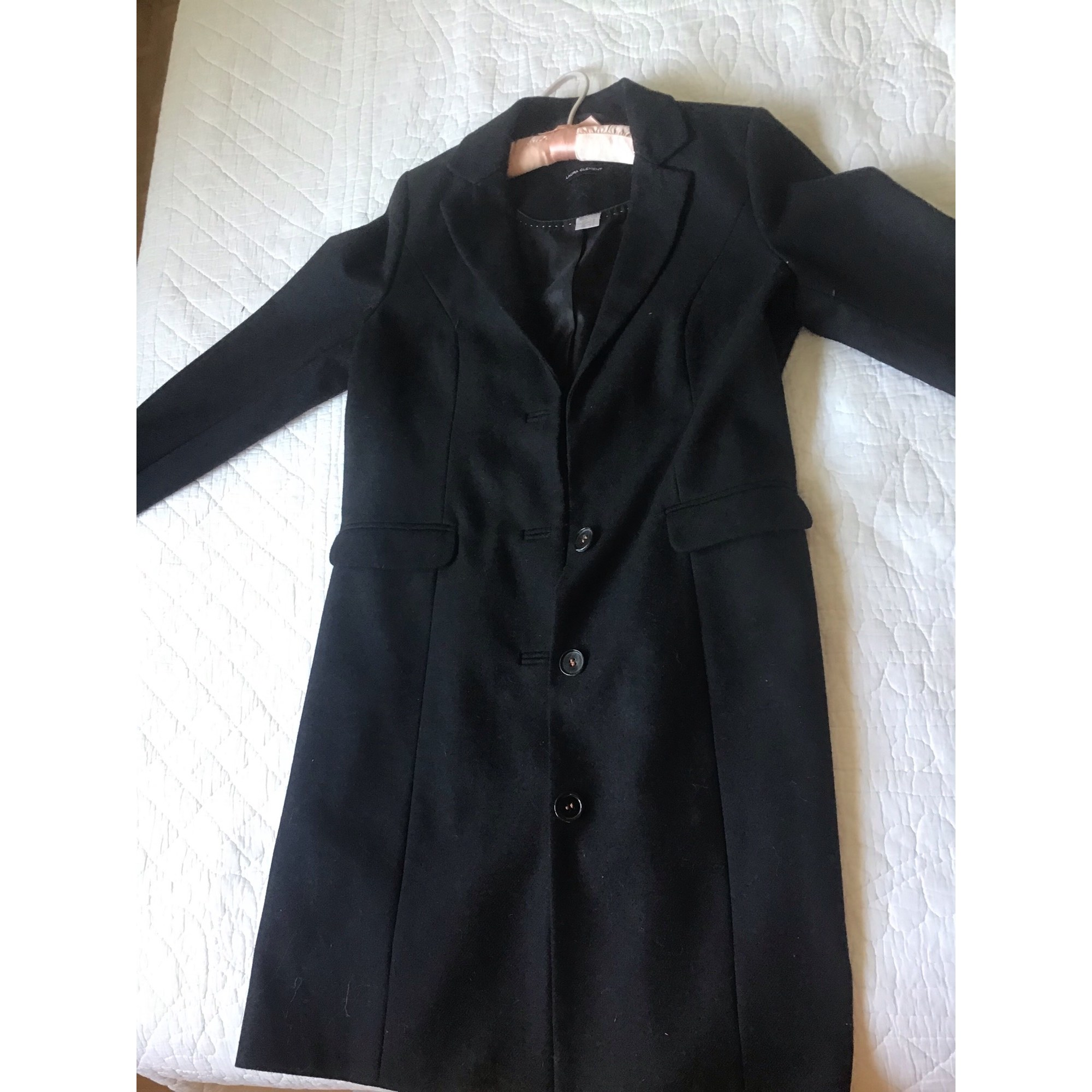 Manteau LAURA CLÉMENT Noir