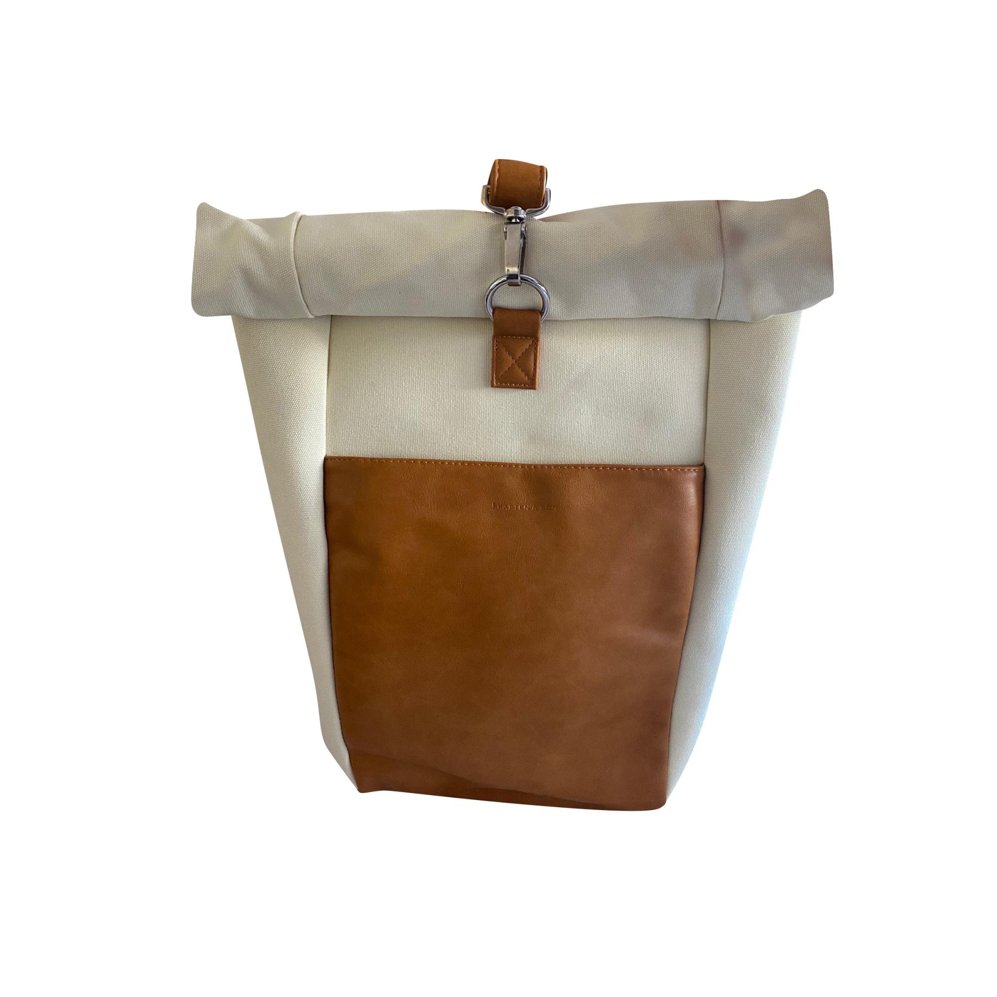 Backpack KAPTEN & SON White, off-white, ecru