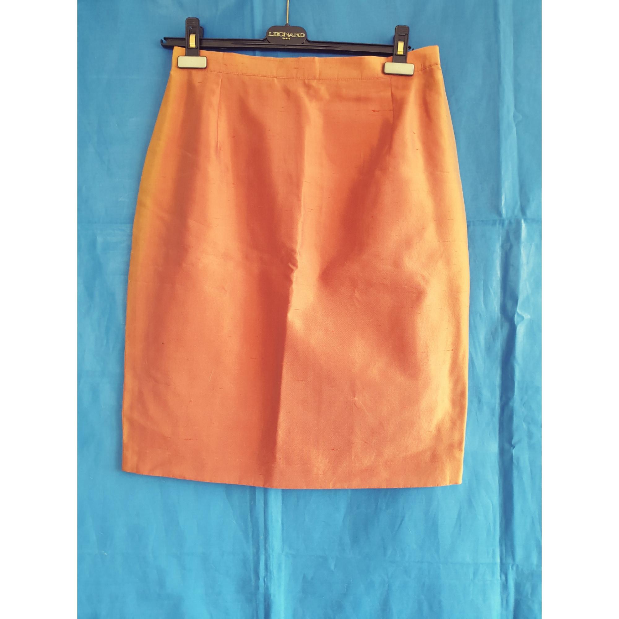 Jupe courte GERARD DAREL Orange