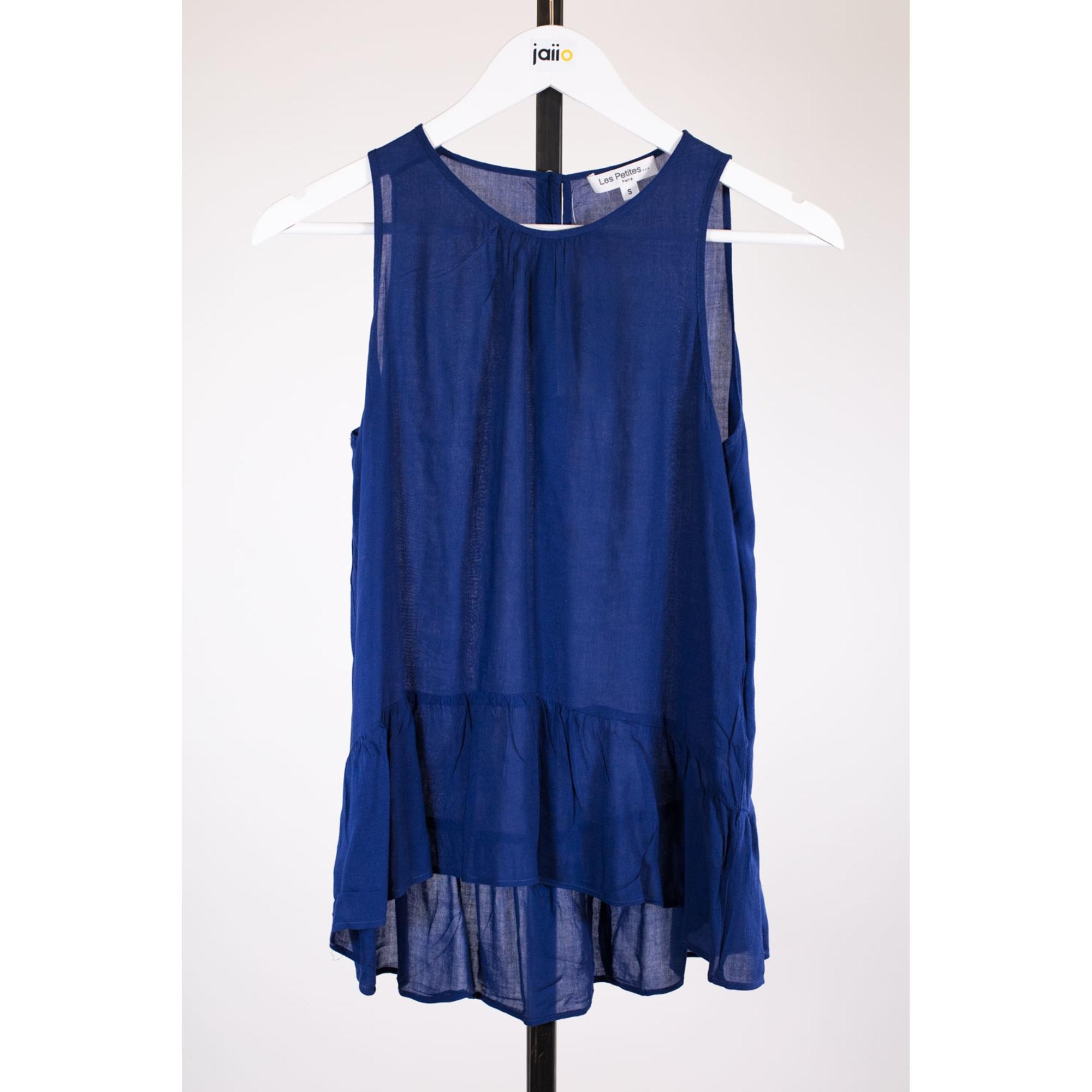 Top, tee-shirt LES PETITES... Bleu, bleu marine, bleu turquoise
