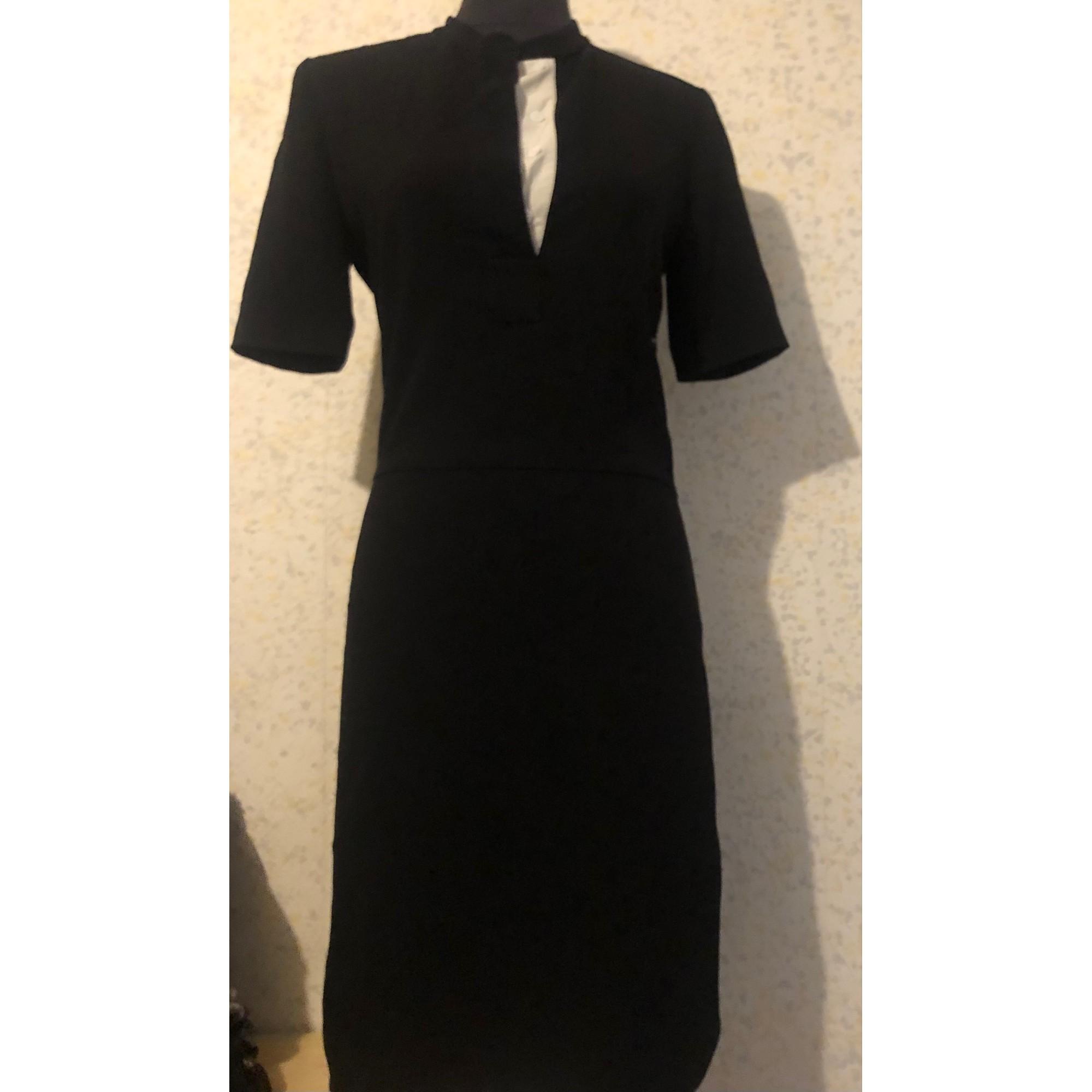 Robe mi-longue JOSEPH Noir