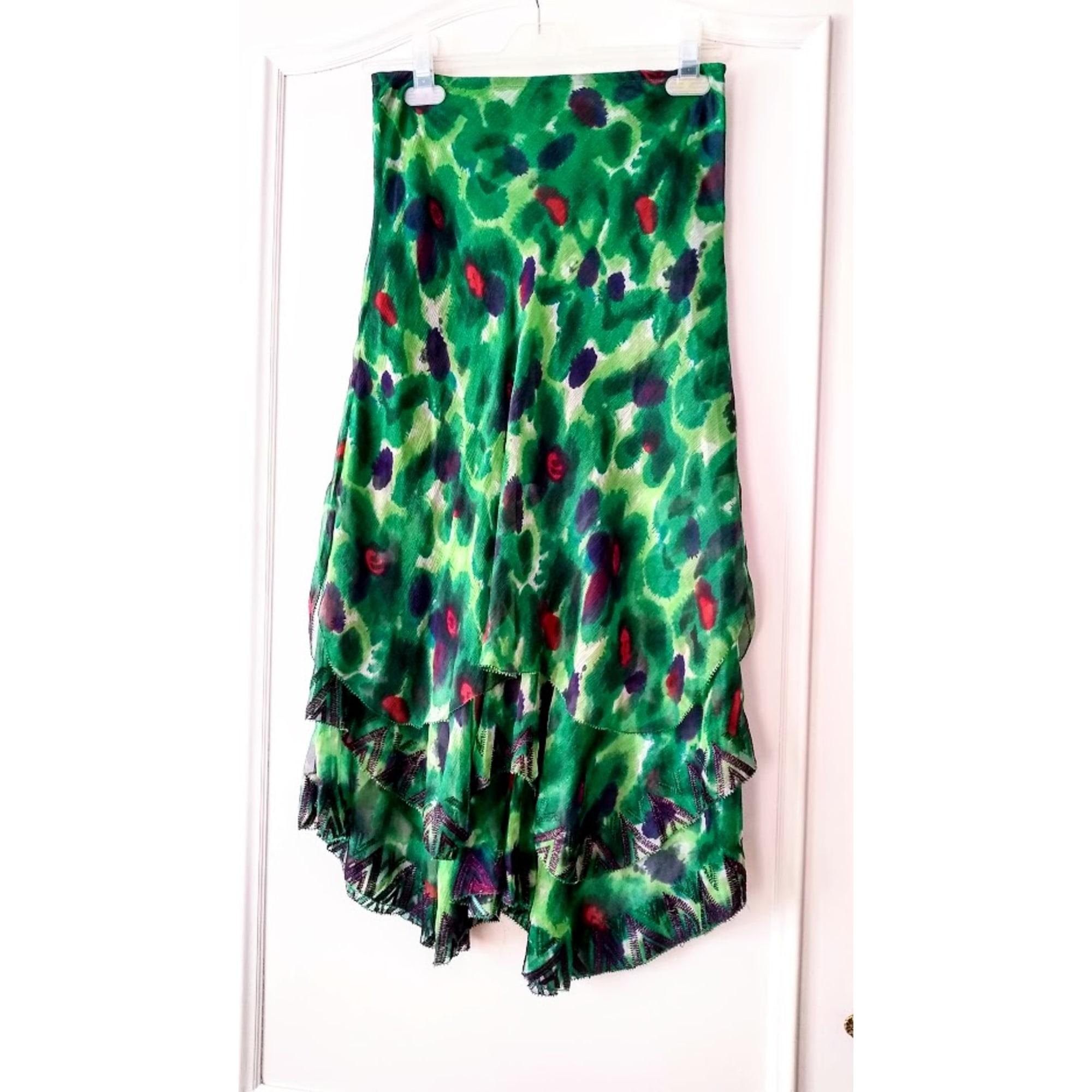 Jupe mi-longue ARMAND VENTILO Vert