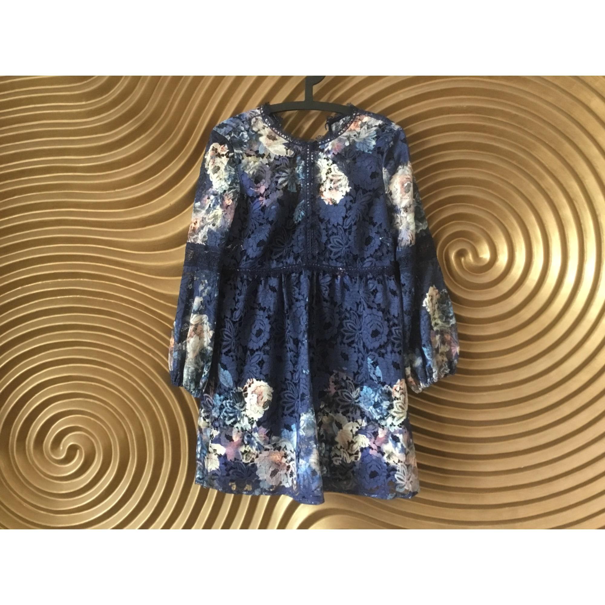 Robe courte LITTLE MISTRESS Bleu, bleu marine, bleu turquoise