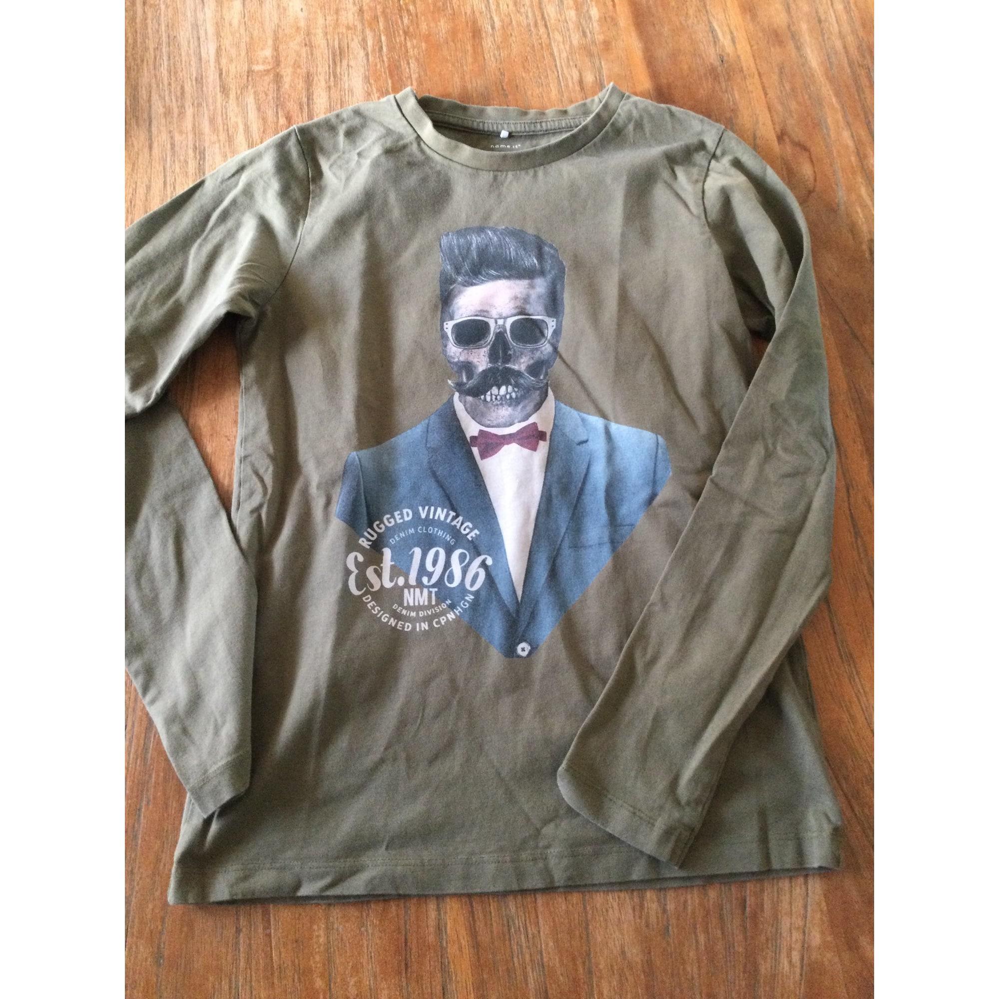 Tee-shirt NAME IT Kaki