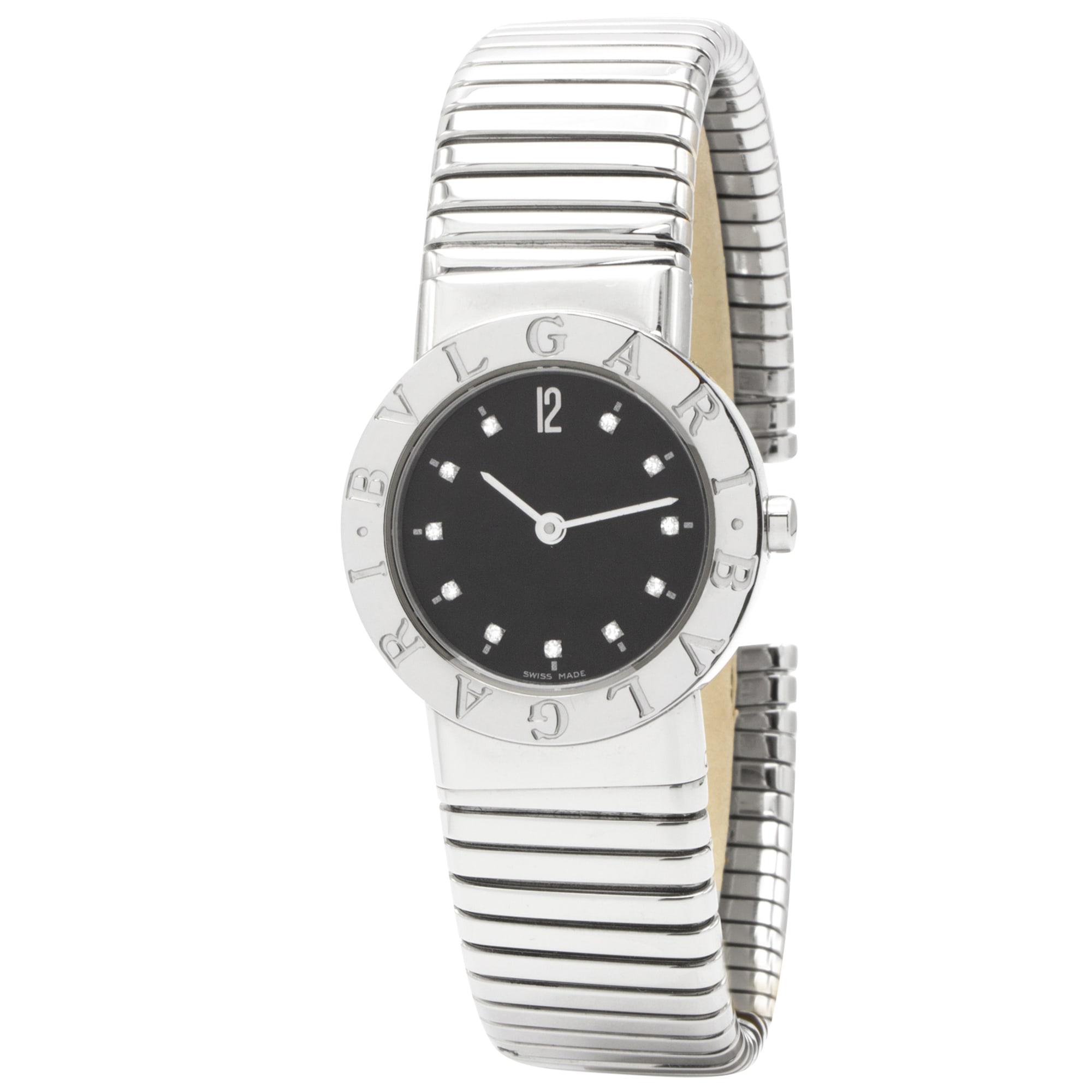 Wrist Watch BULGARI Silver