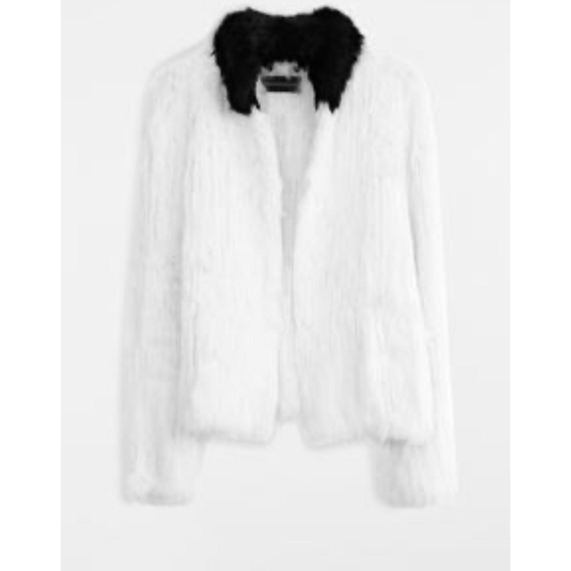 Blouson, veste en fourrure ZADIG & VOLTAIRE Blanc, blanc cassé, écru