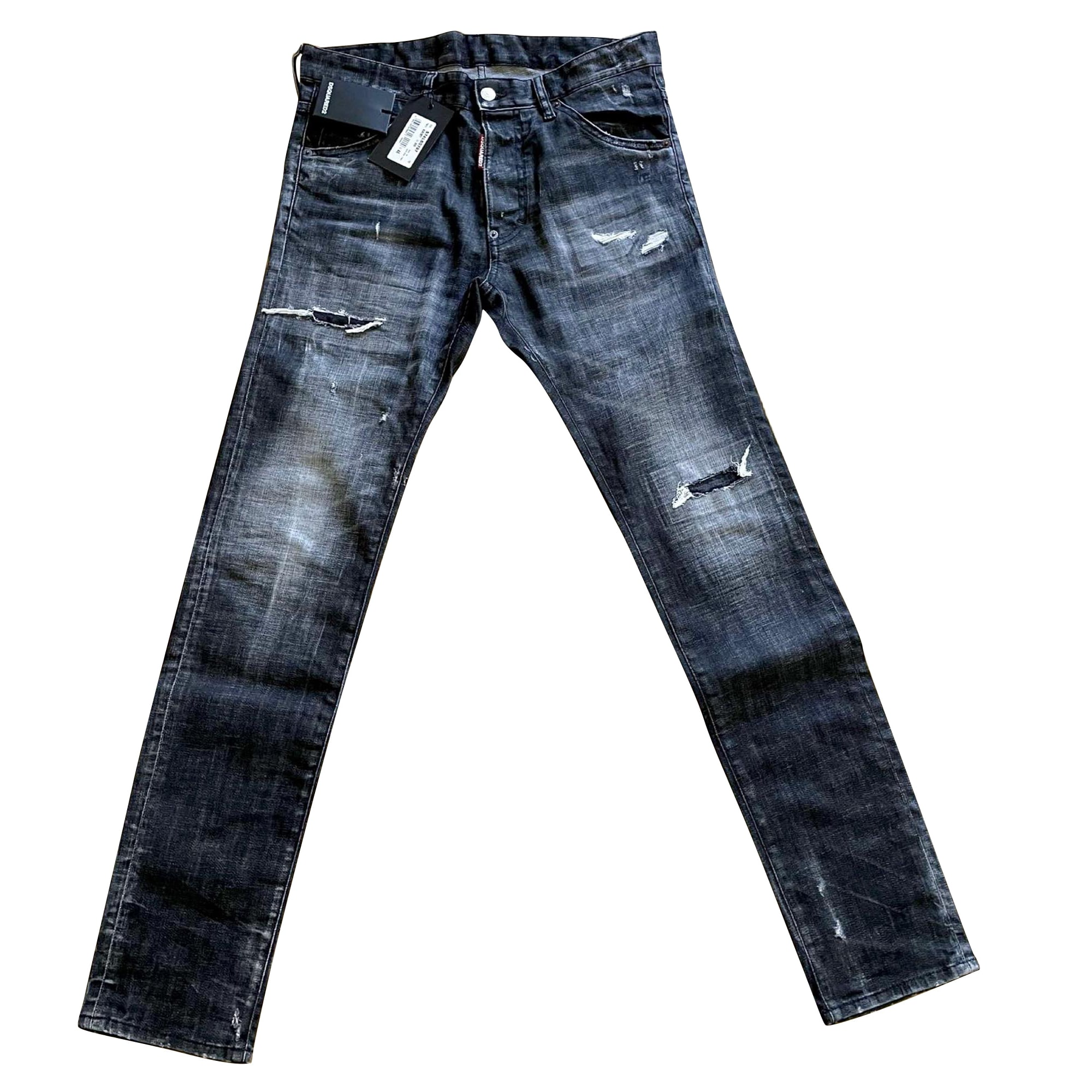 Skinny Jeans DSQUARED2 Silver