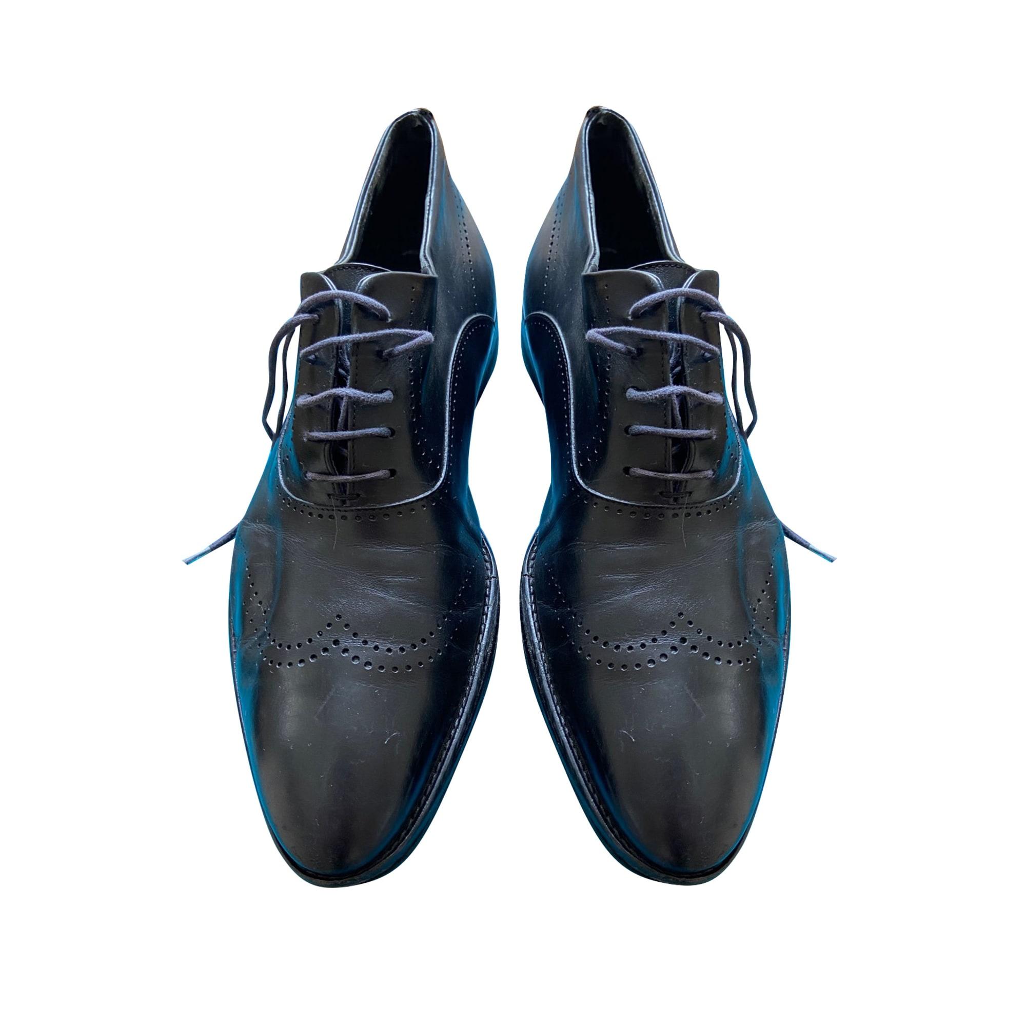 Chaussures à lacets HUGO BOSS Noir