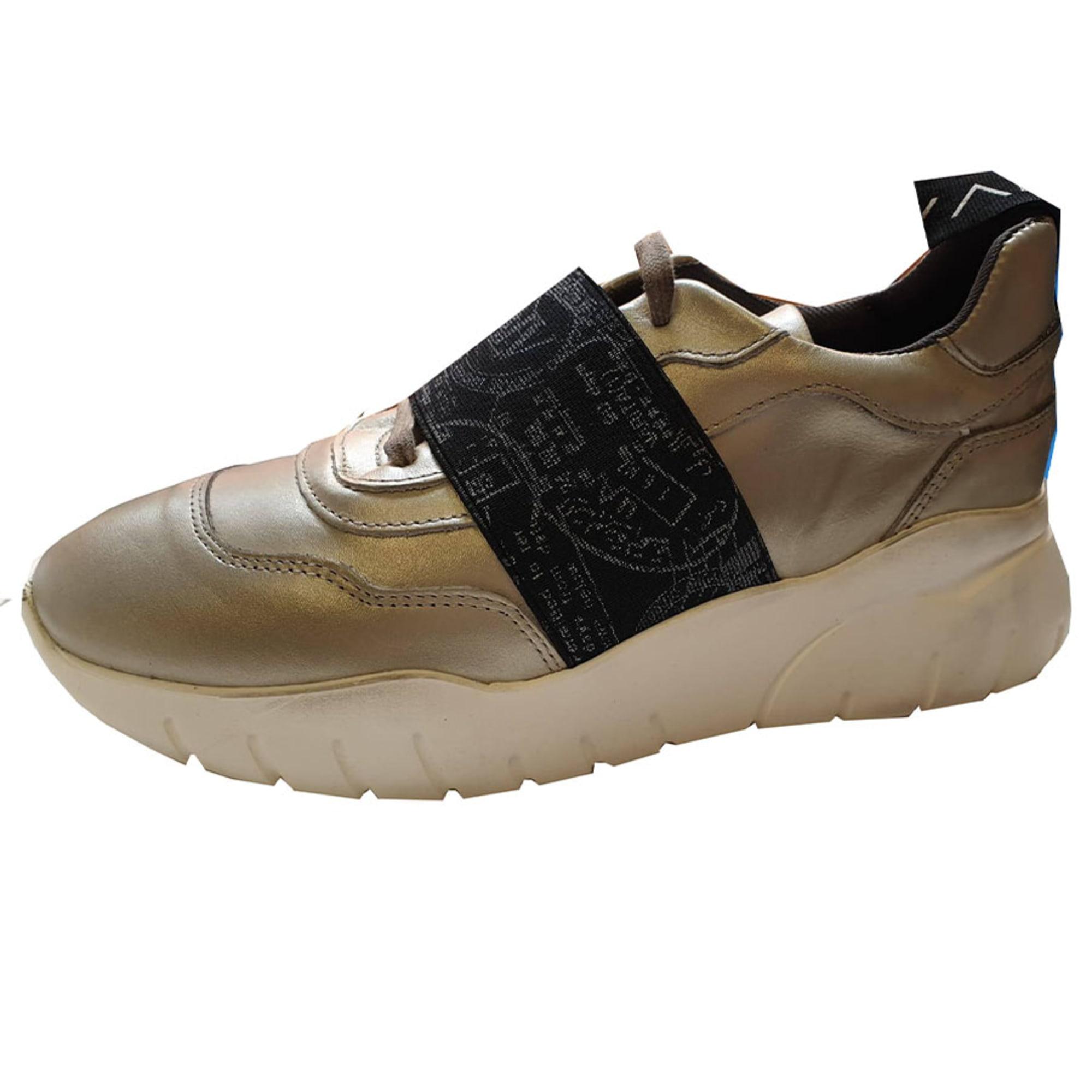 Sports Sneakers ALVIERO MARTINI Golden, bronze, copper