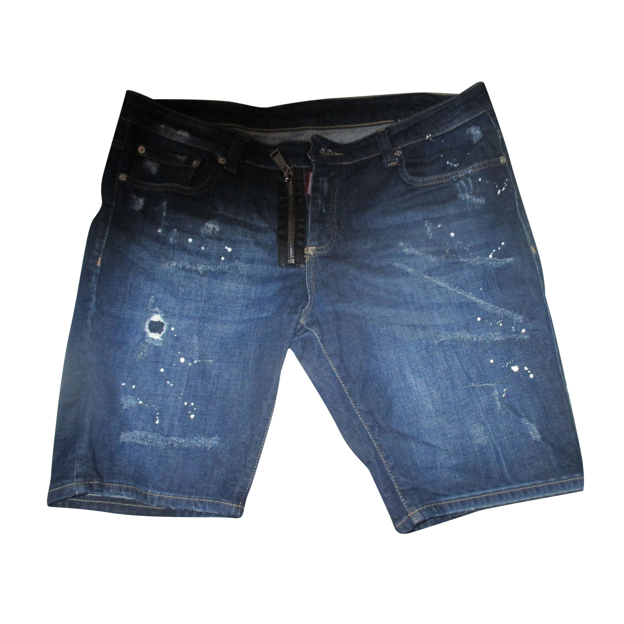 Bermuda Shorts DSQUARED2 Blue, navy, turquoise