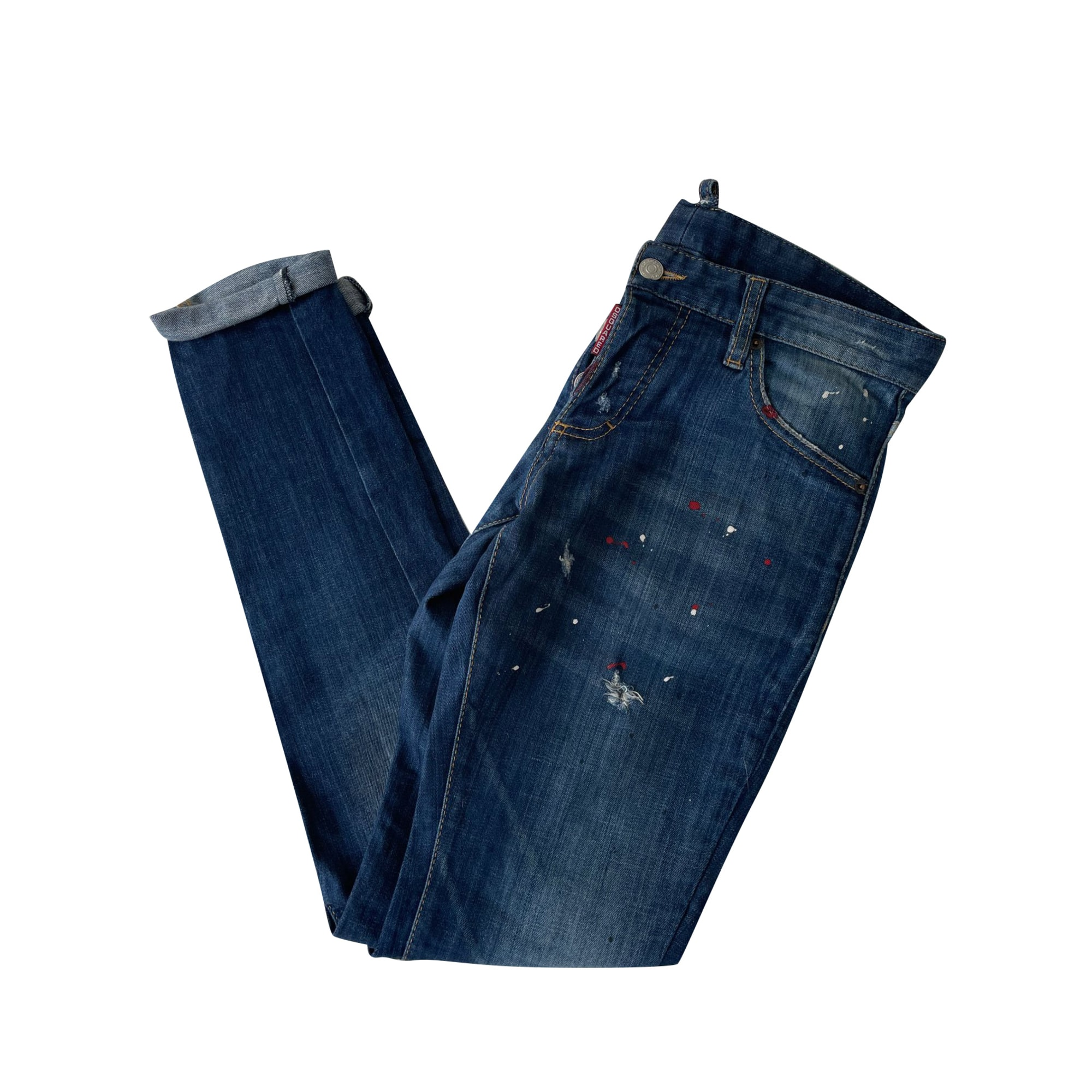 Skinny Jeans DSQUARED2 Blue, navy, turquoise