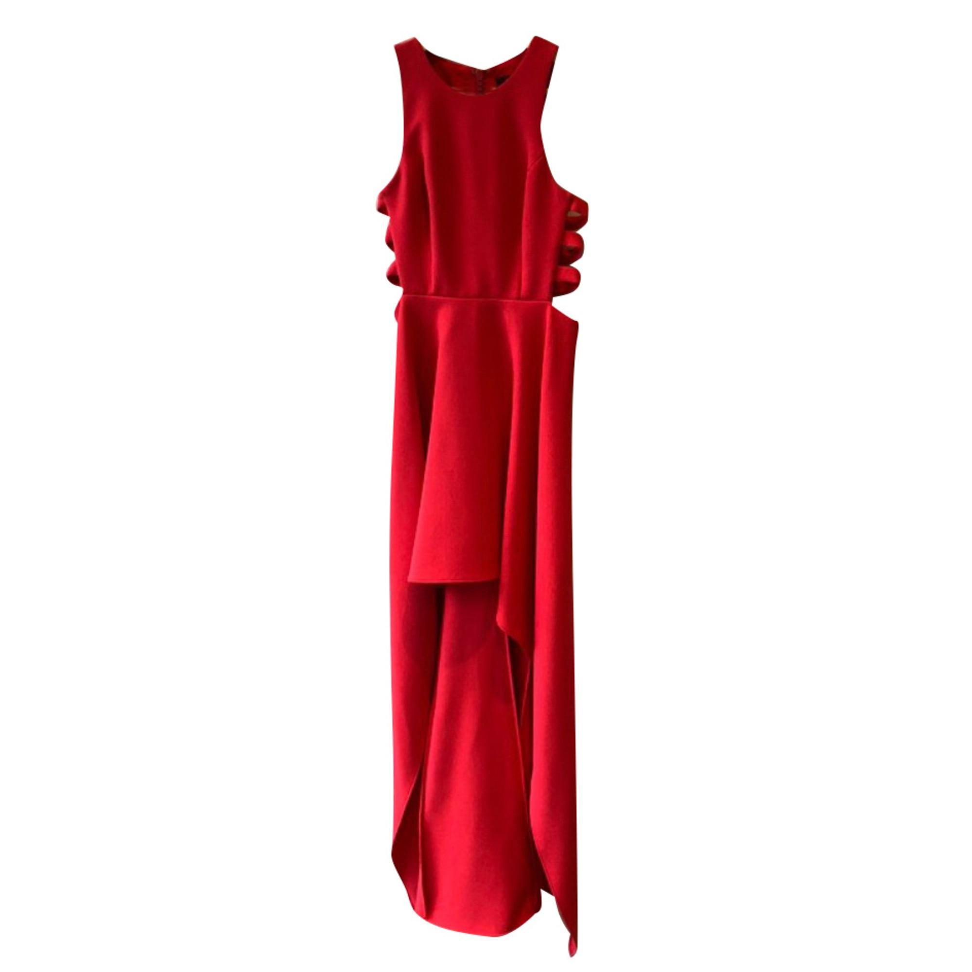 Robe longue BCBG MAX AZRIA Rouge, bordeaux