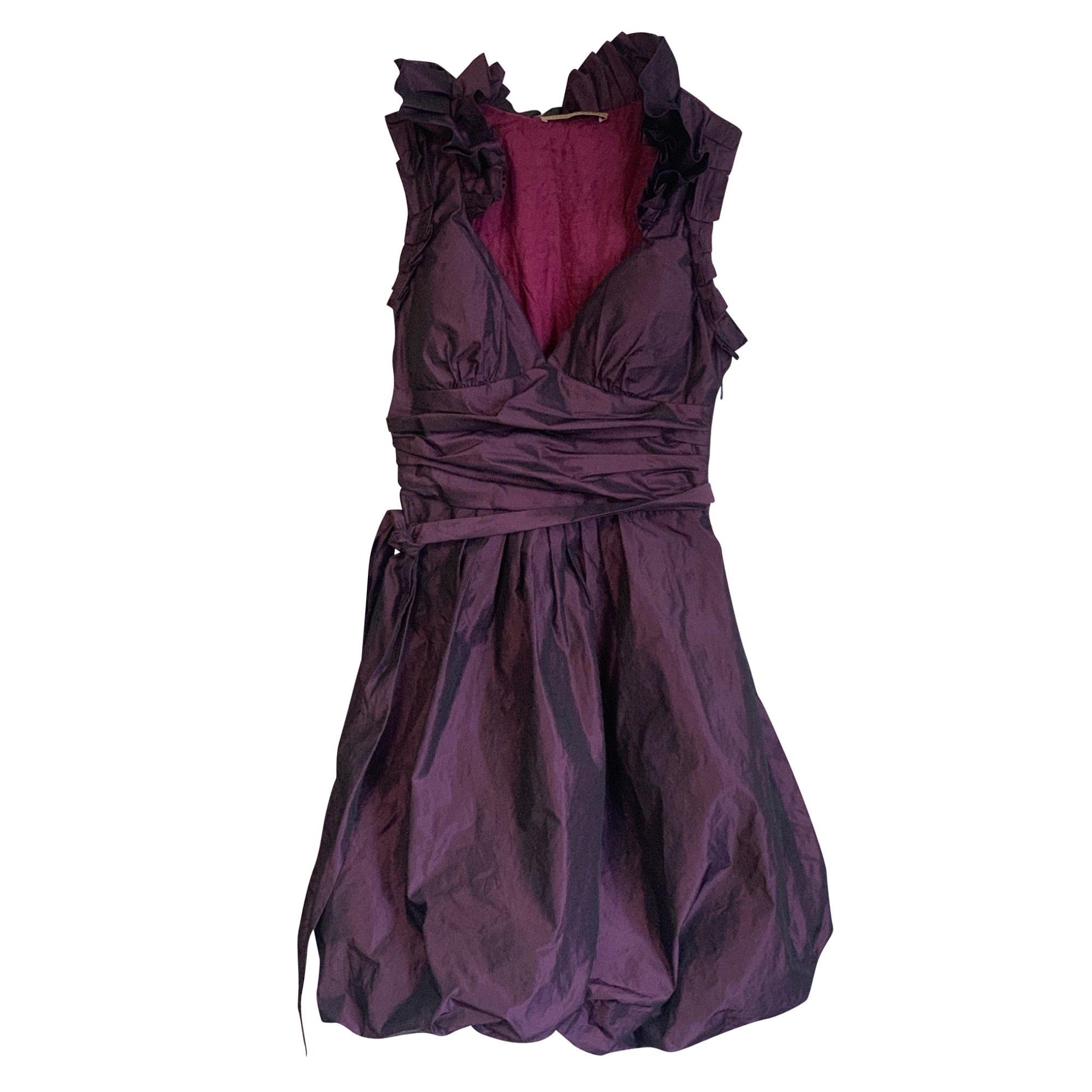 Mini Dress ALAIN MANOUKIAN Purple, mauve, lavender