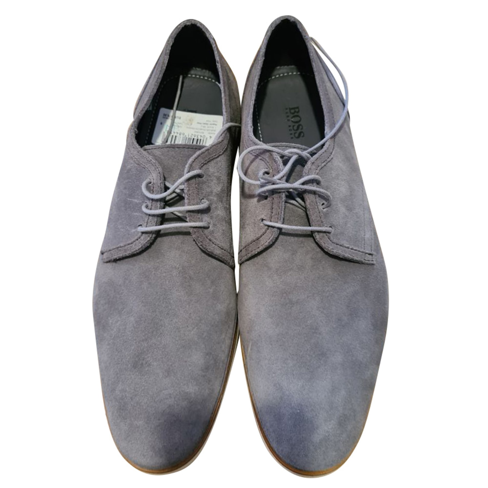 Chaussures à lacets HUGO BOSS Gris, anthracite