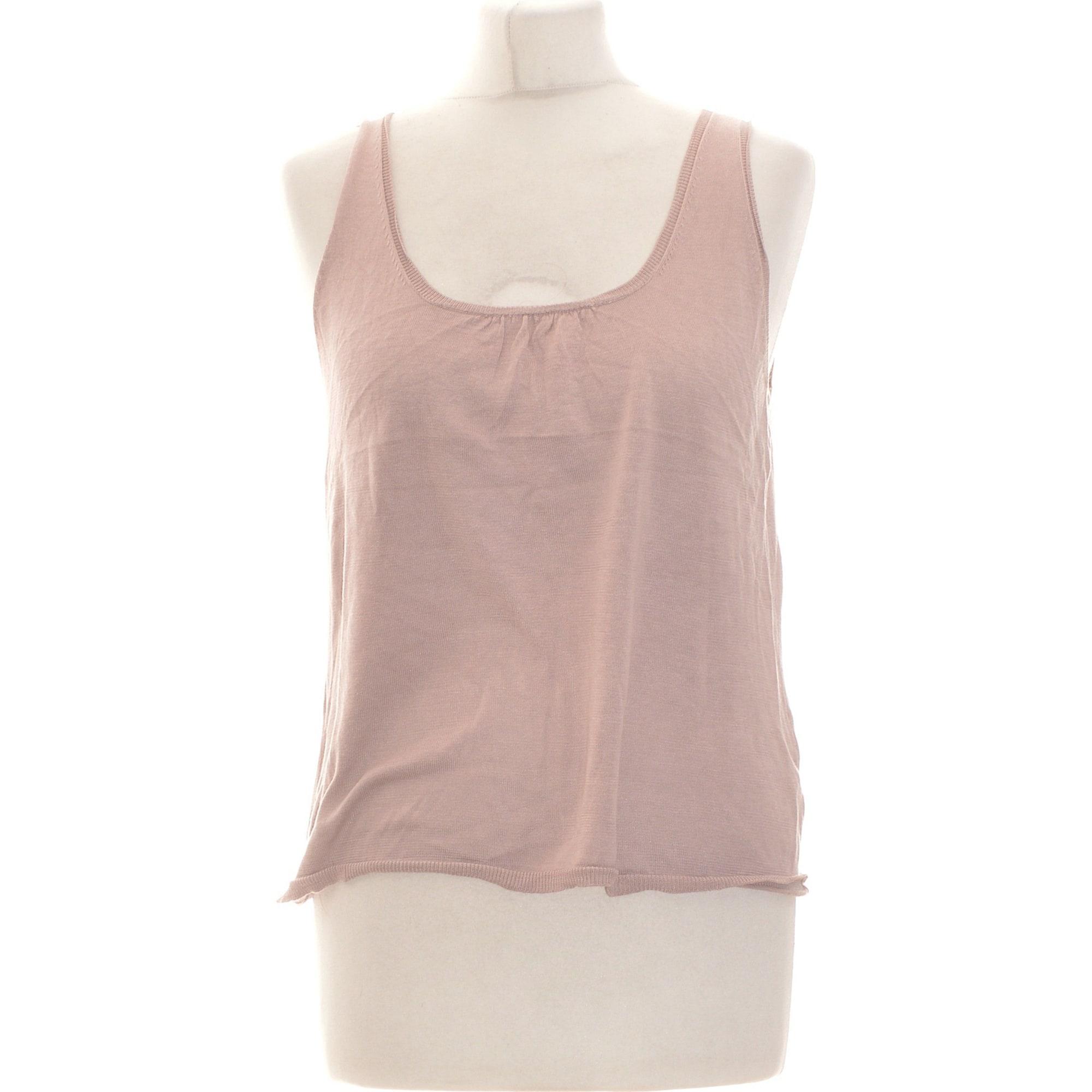 Tank Top ALAIN MANOUKIAN Pink, fuchsia, light pink
