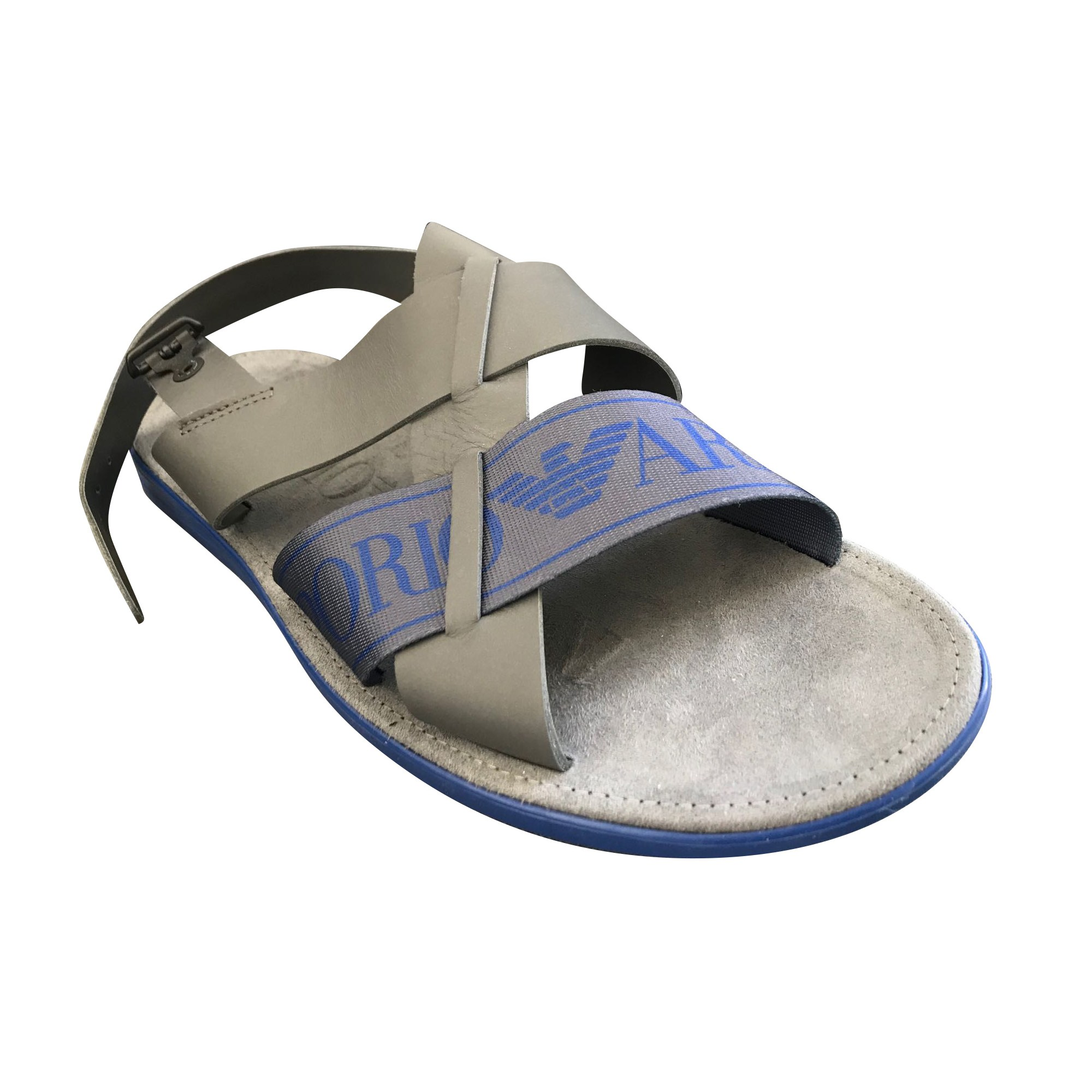 Sandals EMPORIO ARMANI Gray, charcoal