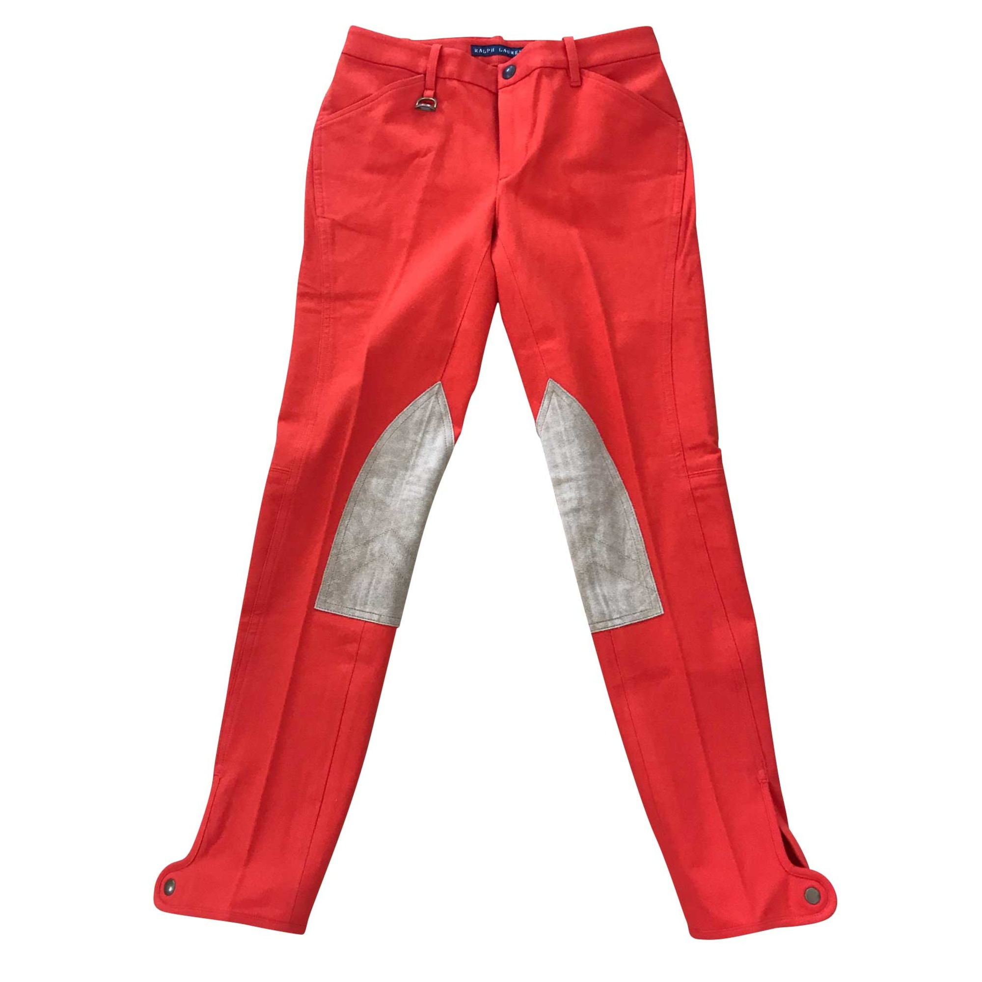 Pantalon droit RALPH LAUREN Orange