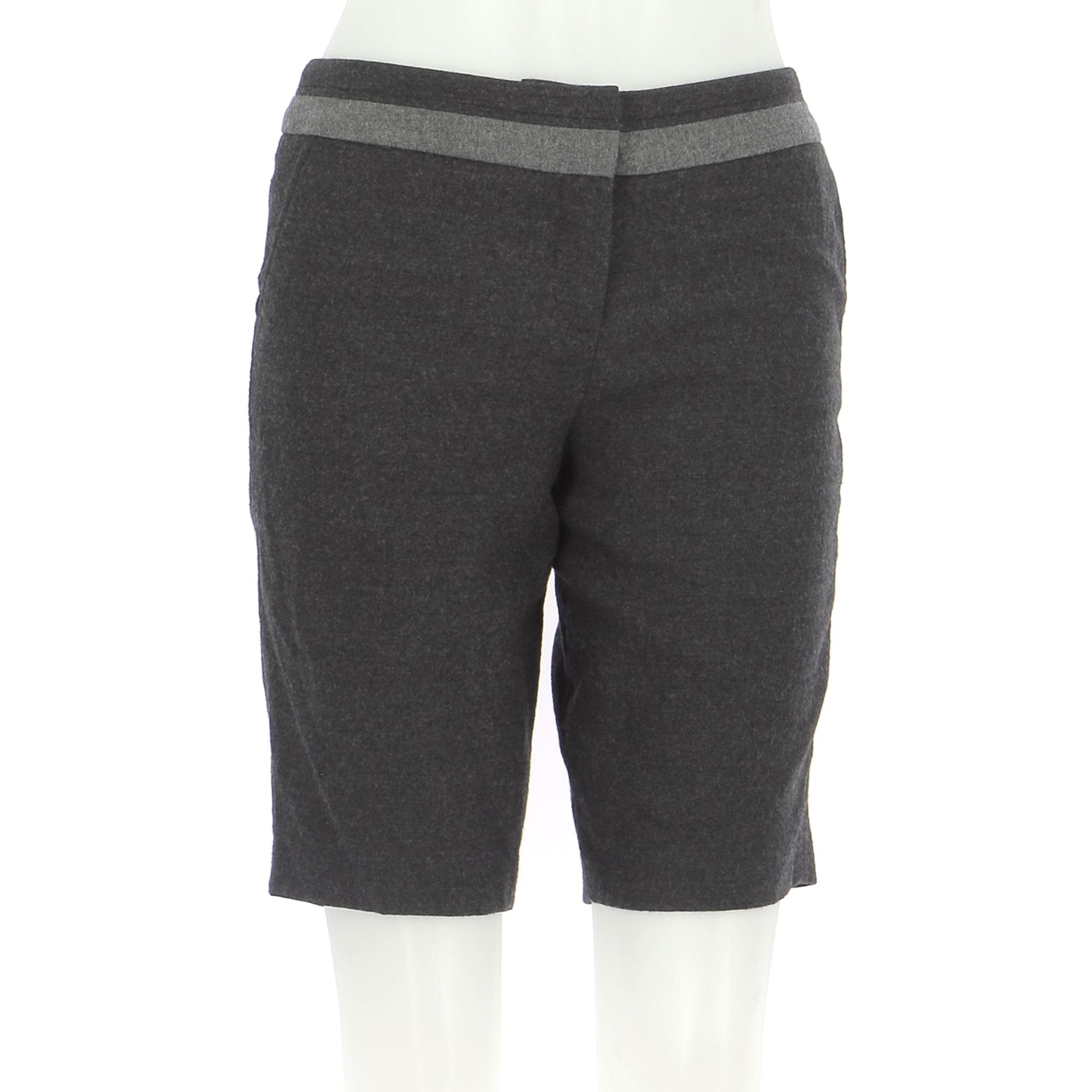 Shorts ALAIN MANOUKIAN Gray, charcoal
