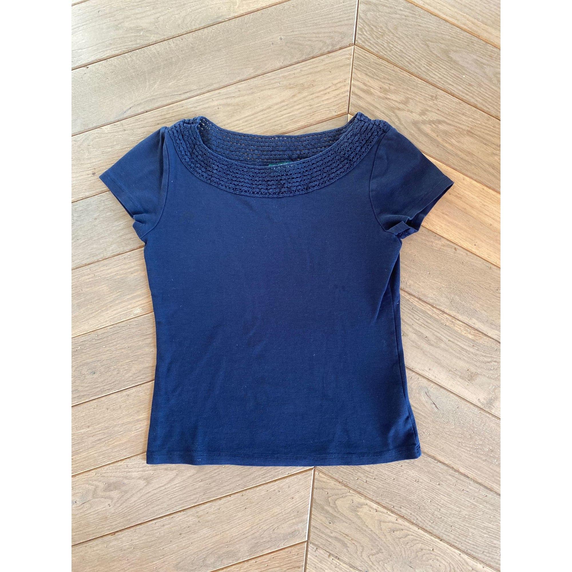 Top, tee-shirt RALPH LAUREN Bleu, bleu marine, bleu turquoise