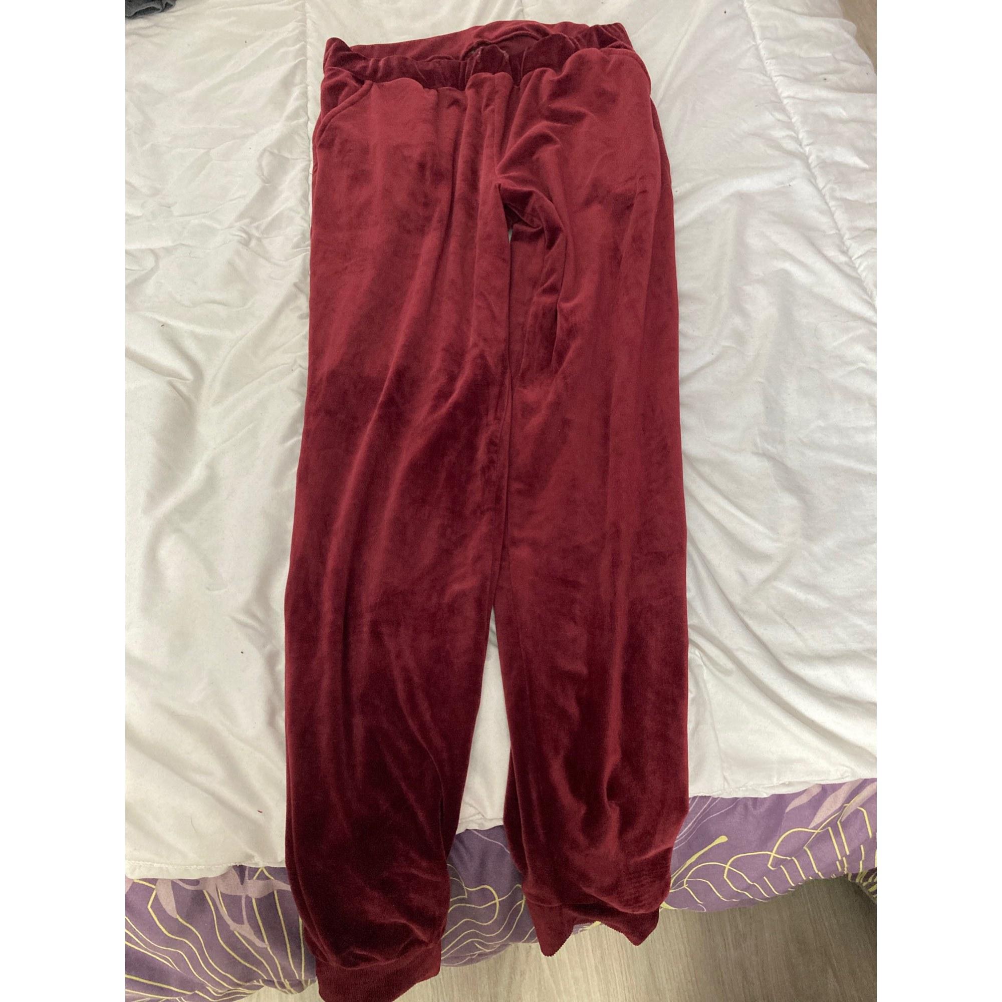 Pyjama MARQUE INCONNUE Rouge, bordeaux