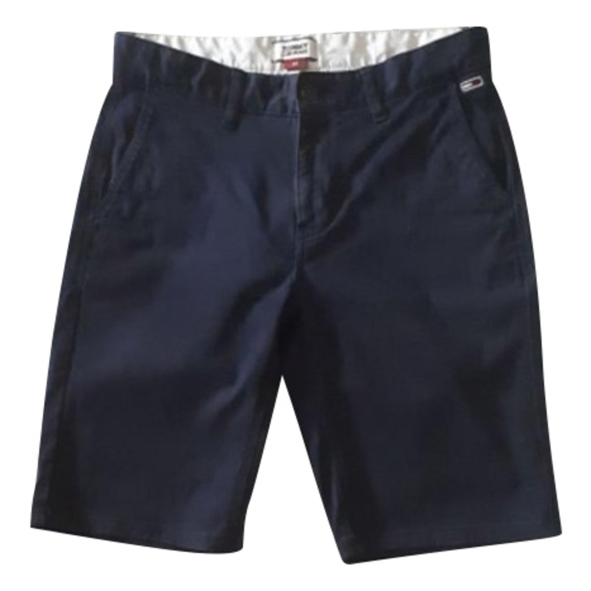 Pantalon large TOMMY HILFIGER Bleu, bleu marine, bleu turquoise