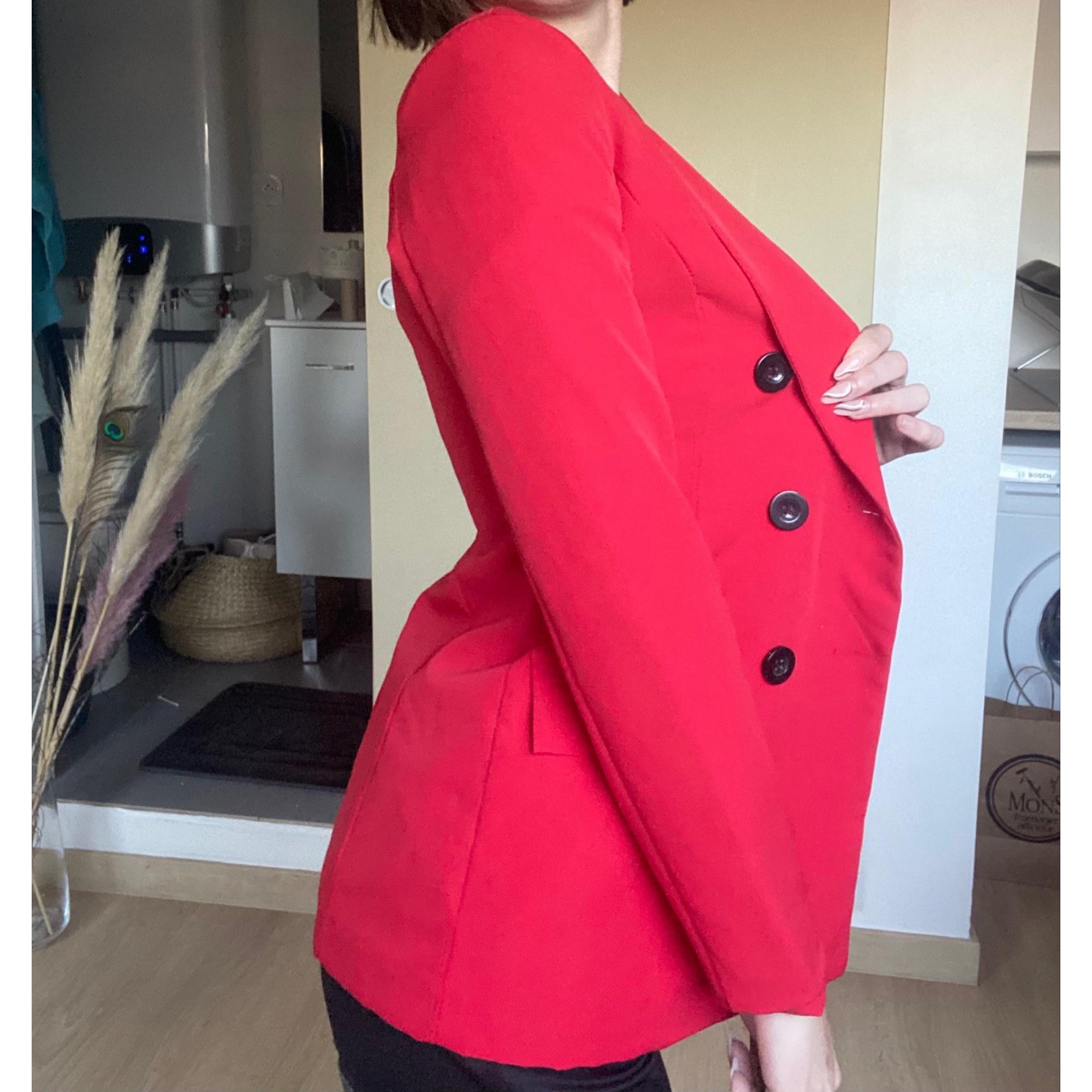 Blazer, veste tailleur INDEPENDANT Rouge, bordeaux