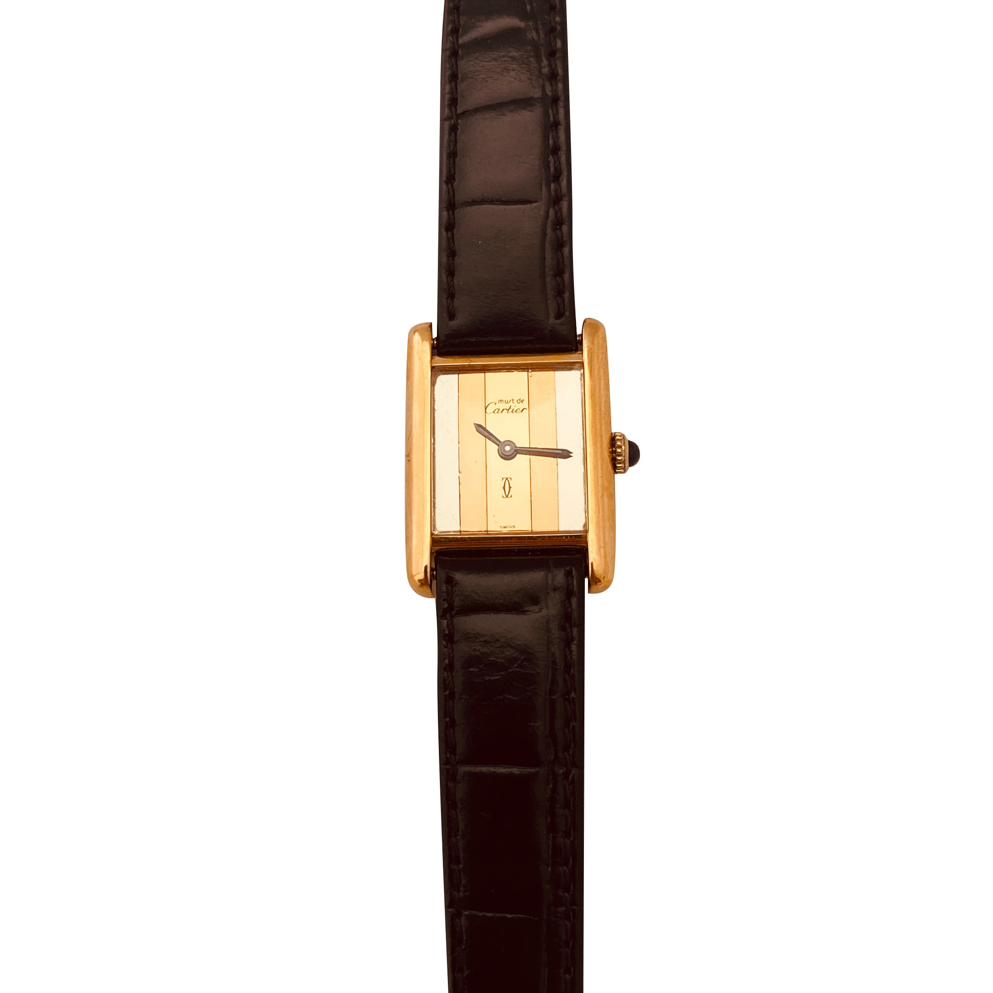 Orologio da polso CARTIER Dorato, bronzo, rame